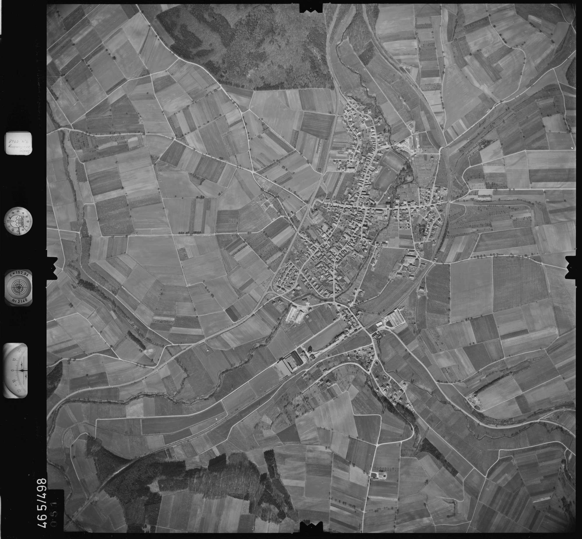 Luftbild: Film 102 Bildnr. 51, Bild 1
