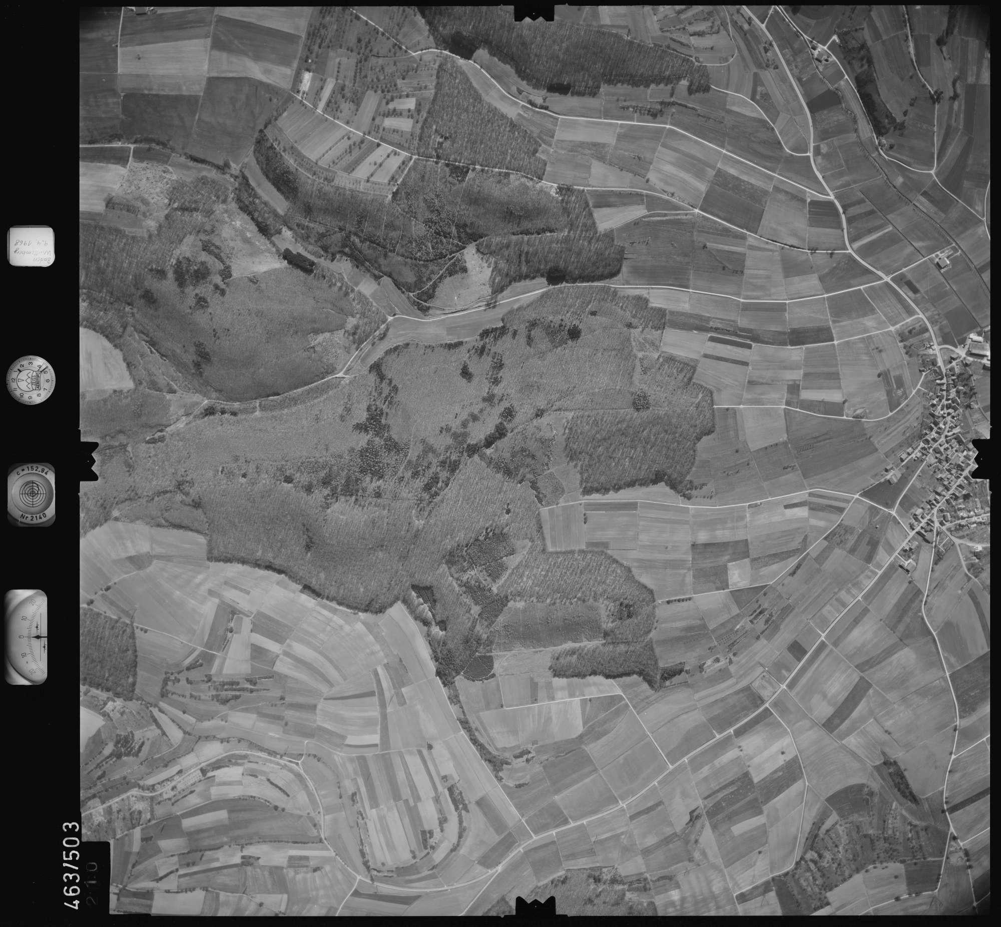 Luftbild: Film 102 Bildnr. 210, Bild 1