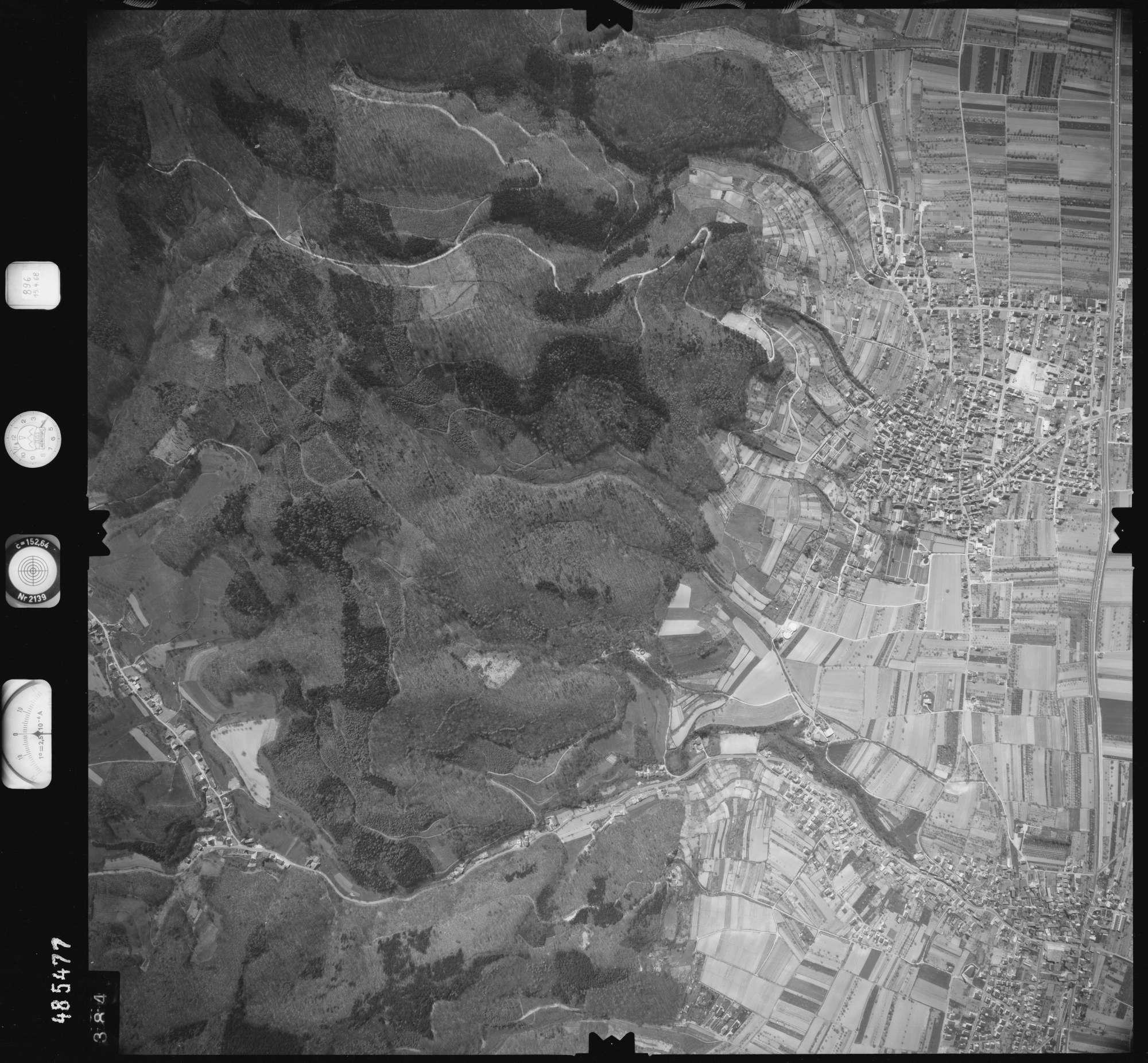 Luftbild: Film 896 Bildnr. 384, Bild 1