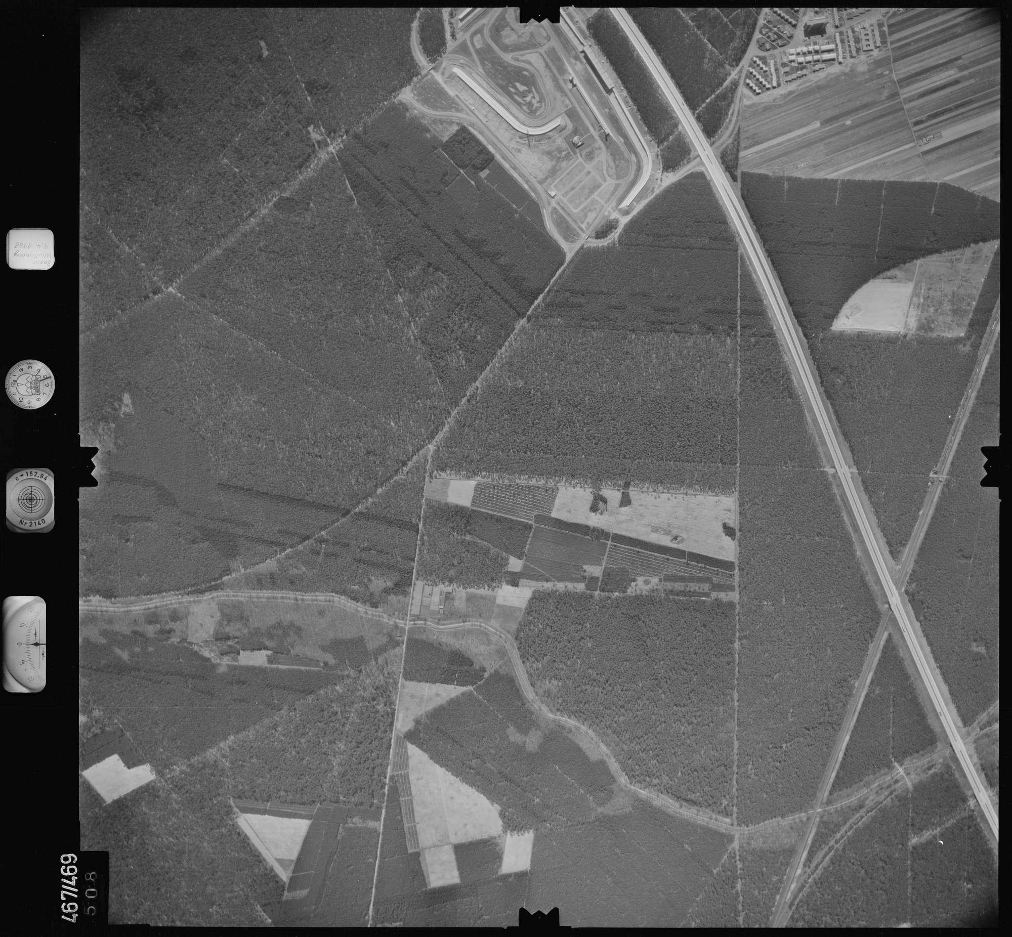 Luftbild: Film 101 Bildnr. 508, Bild 1