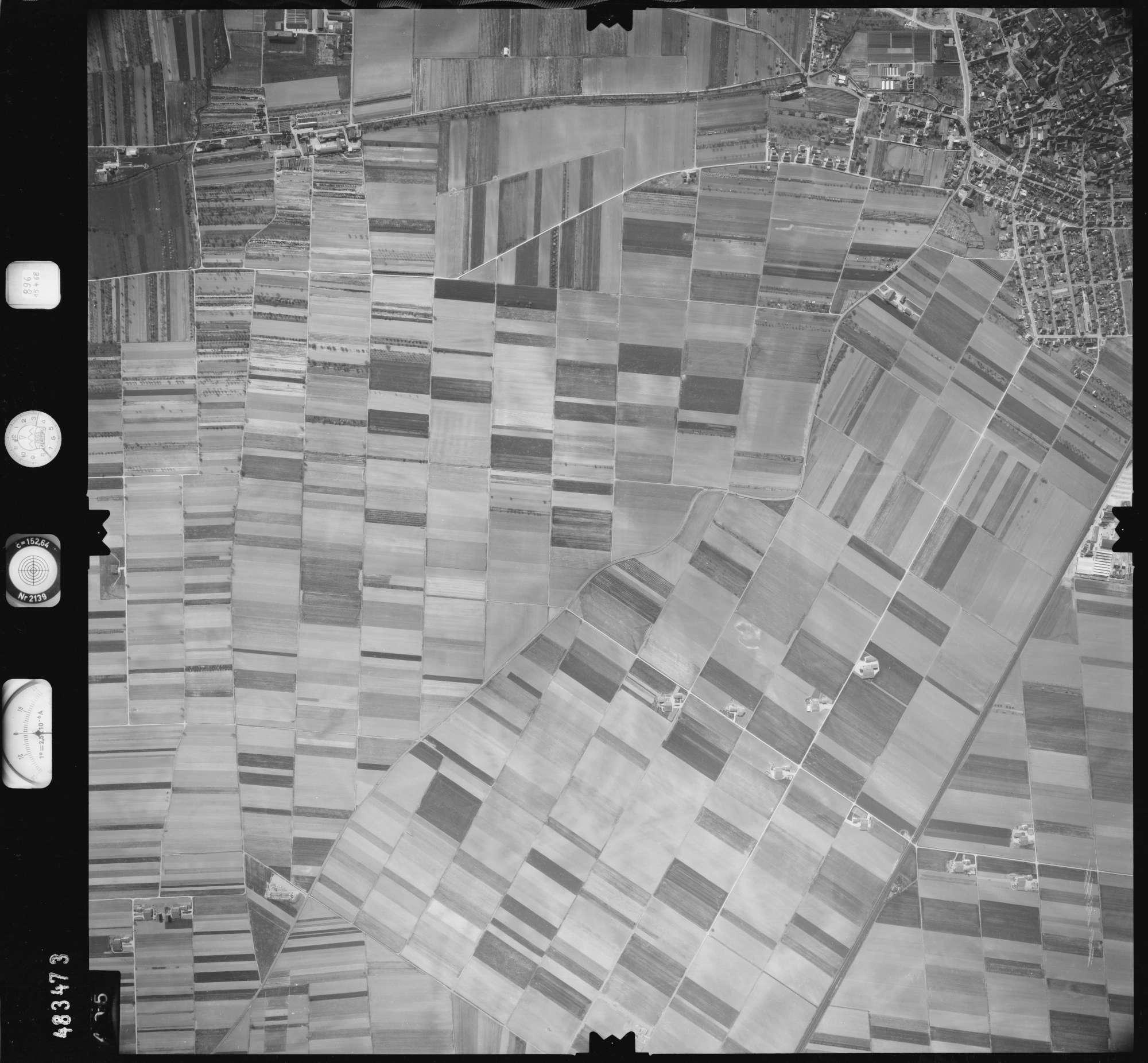 Luftbild: Film 896 Bildnr. 405, Bild 1