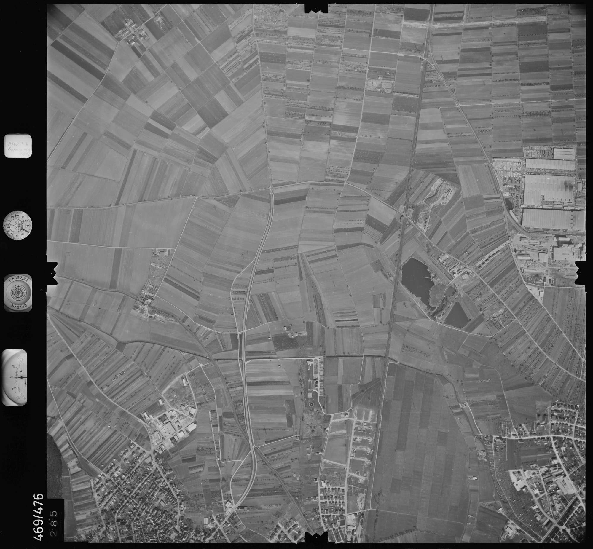 Luftbild: Film 101 Bildnr. 285, Bild 1