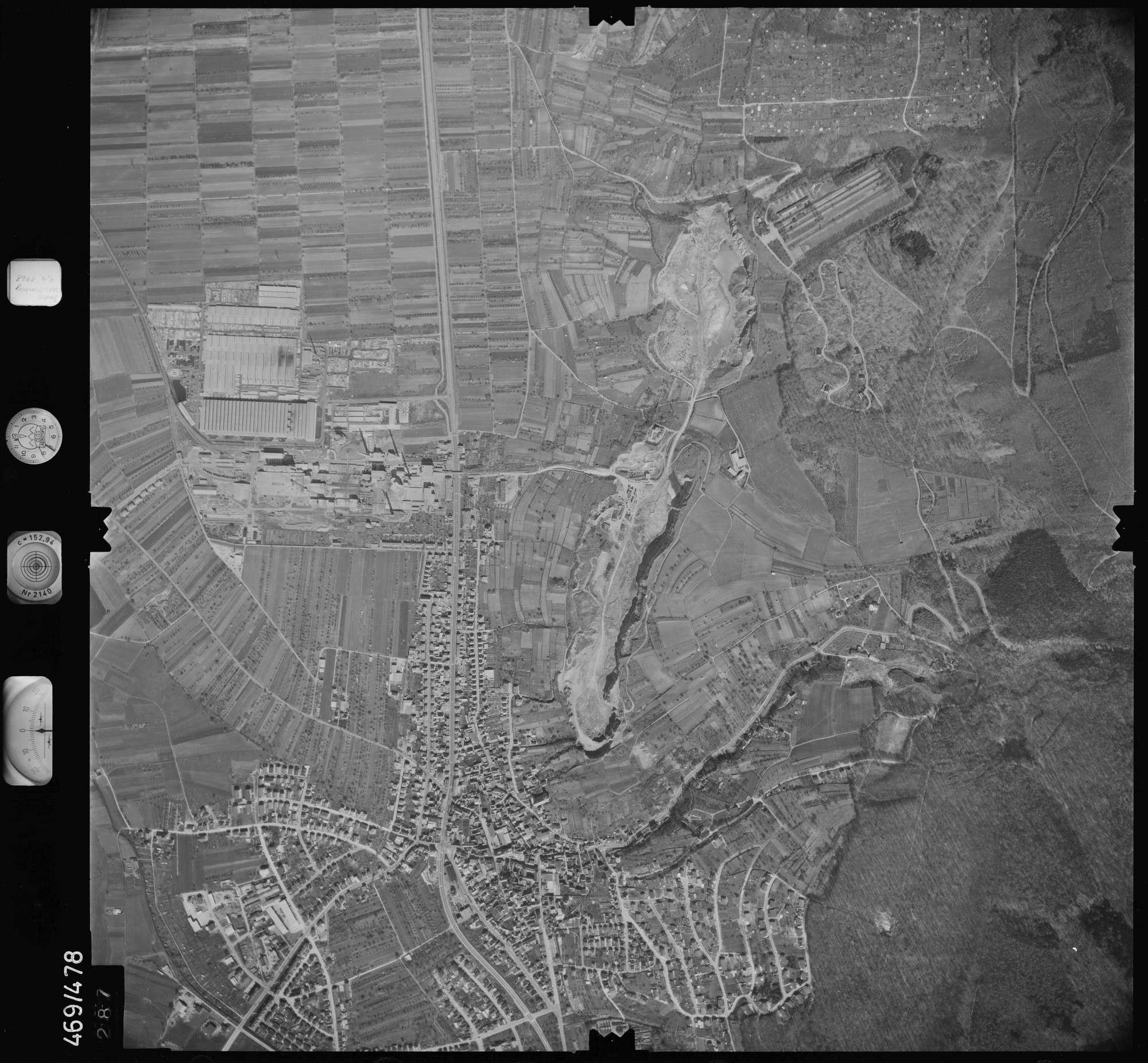 Luftbild: Film 101 Bildnr. 287, Bild 1