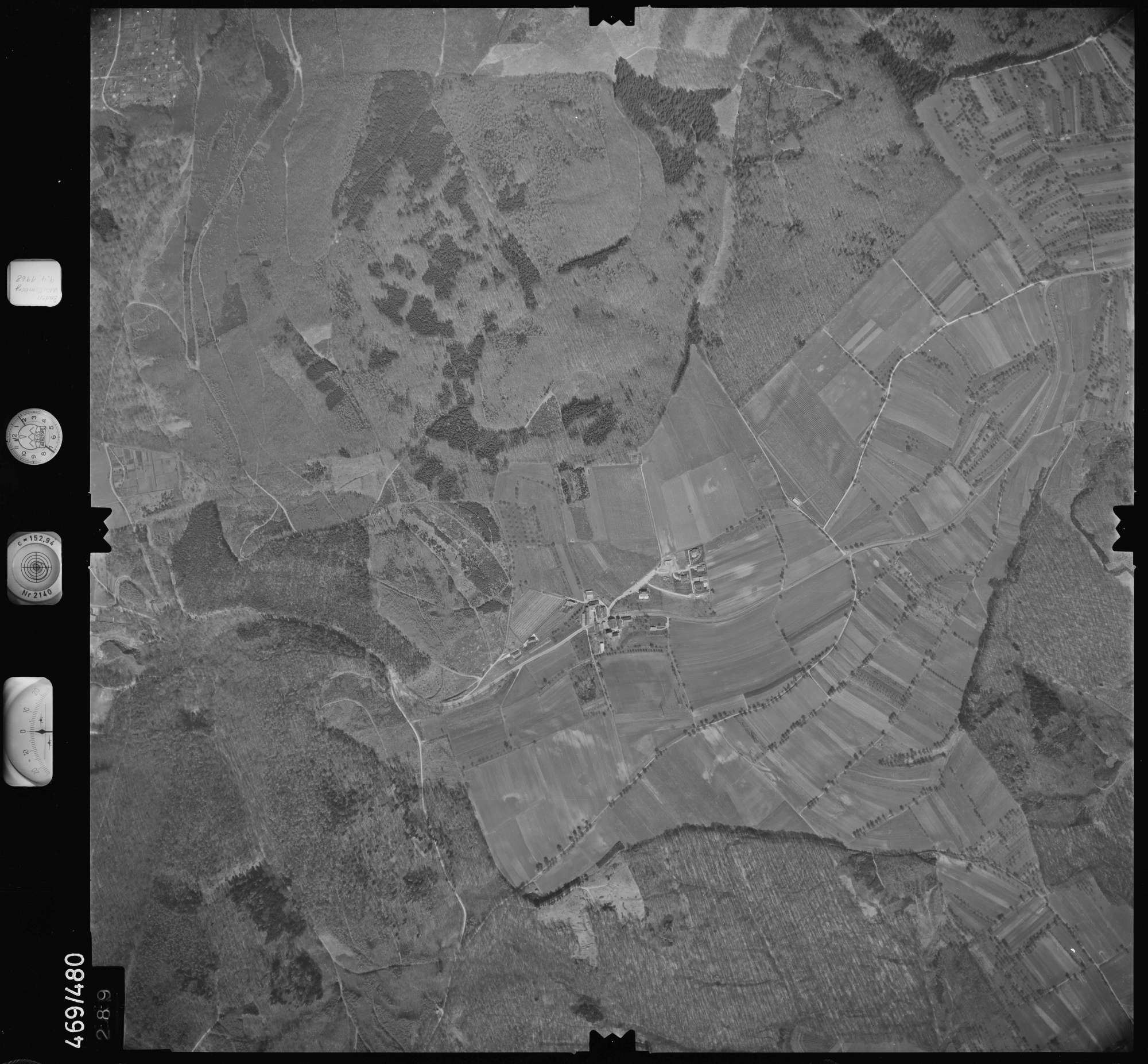 Luftbild: Film 101 Bildnr. 289, Bild 1
