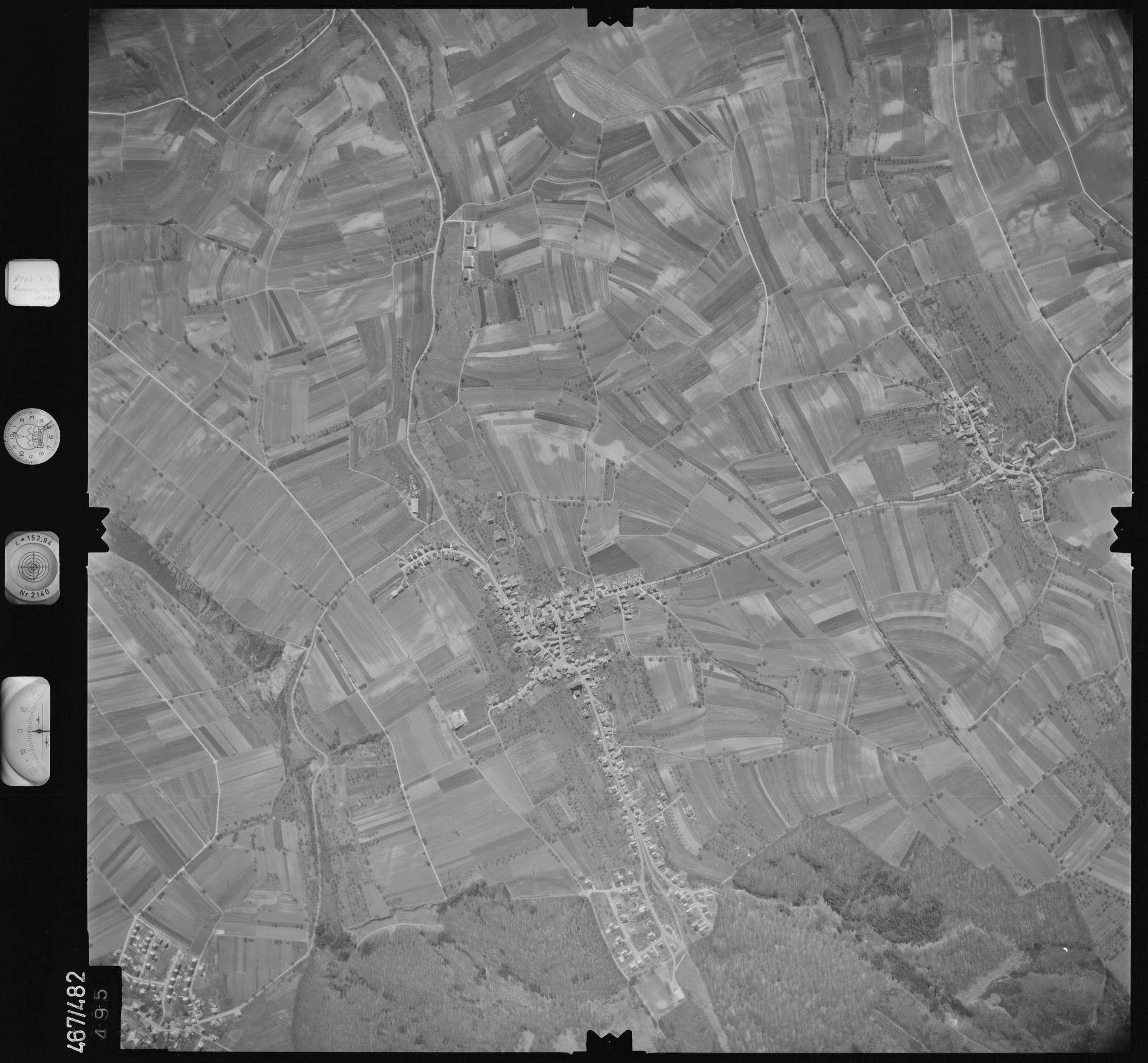 Luftbild: Film 101 Bildnr. 495, Bild 1