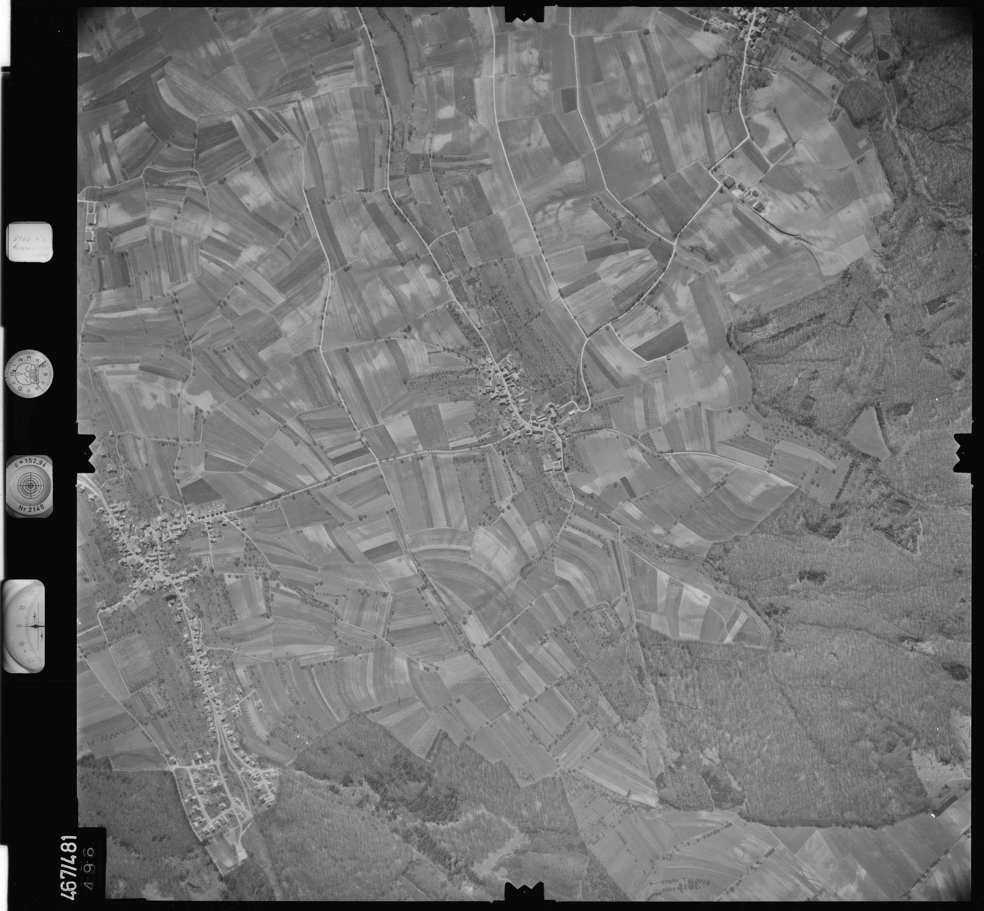 Luftbild: Film 101 Bildnr. 496, Bild 1