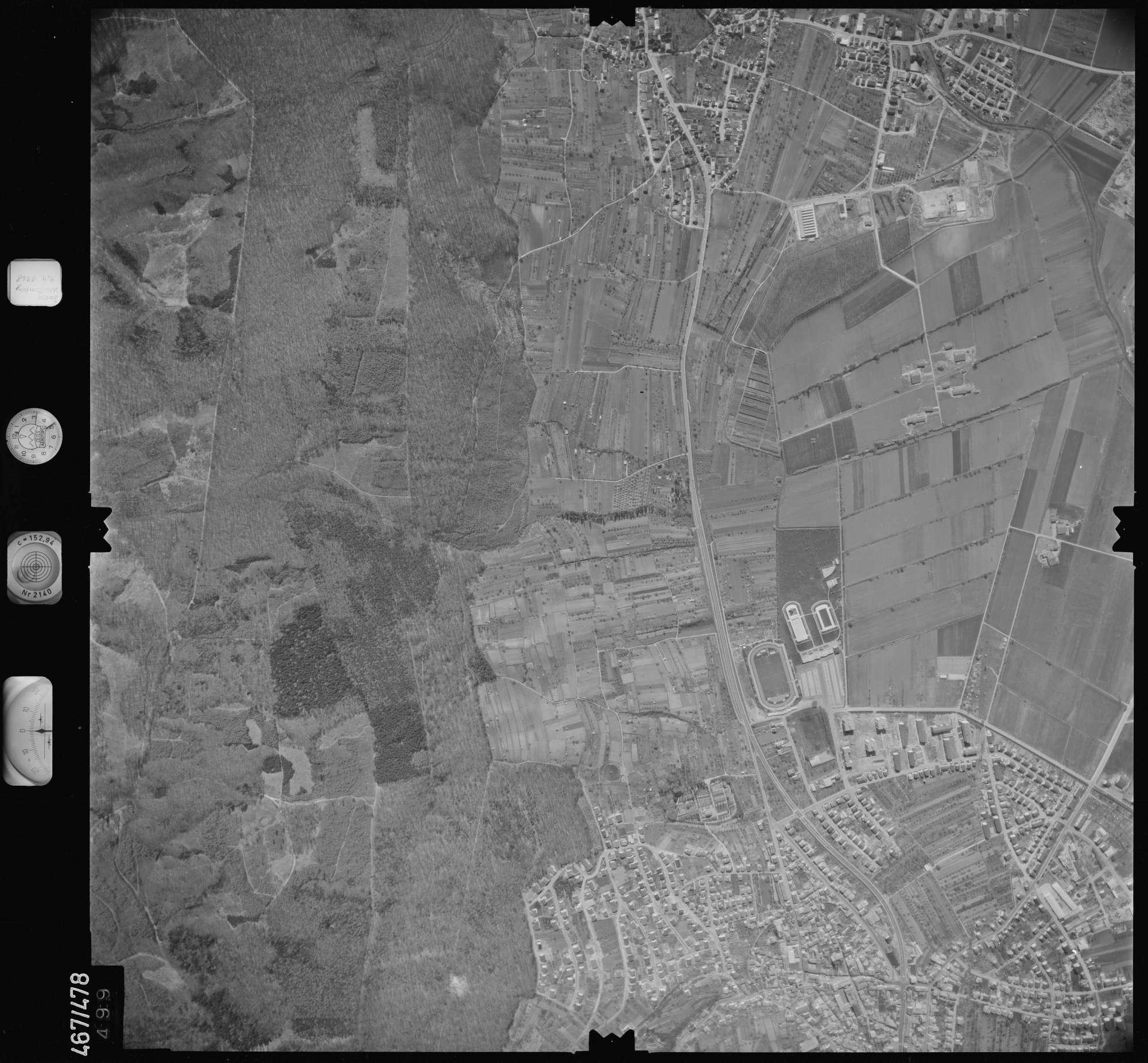 Luftbild: Film 101 Bildnr. 499, Bild 1