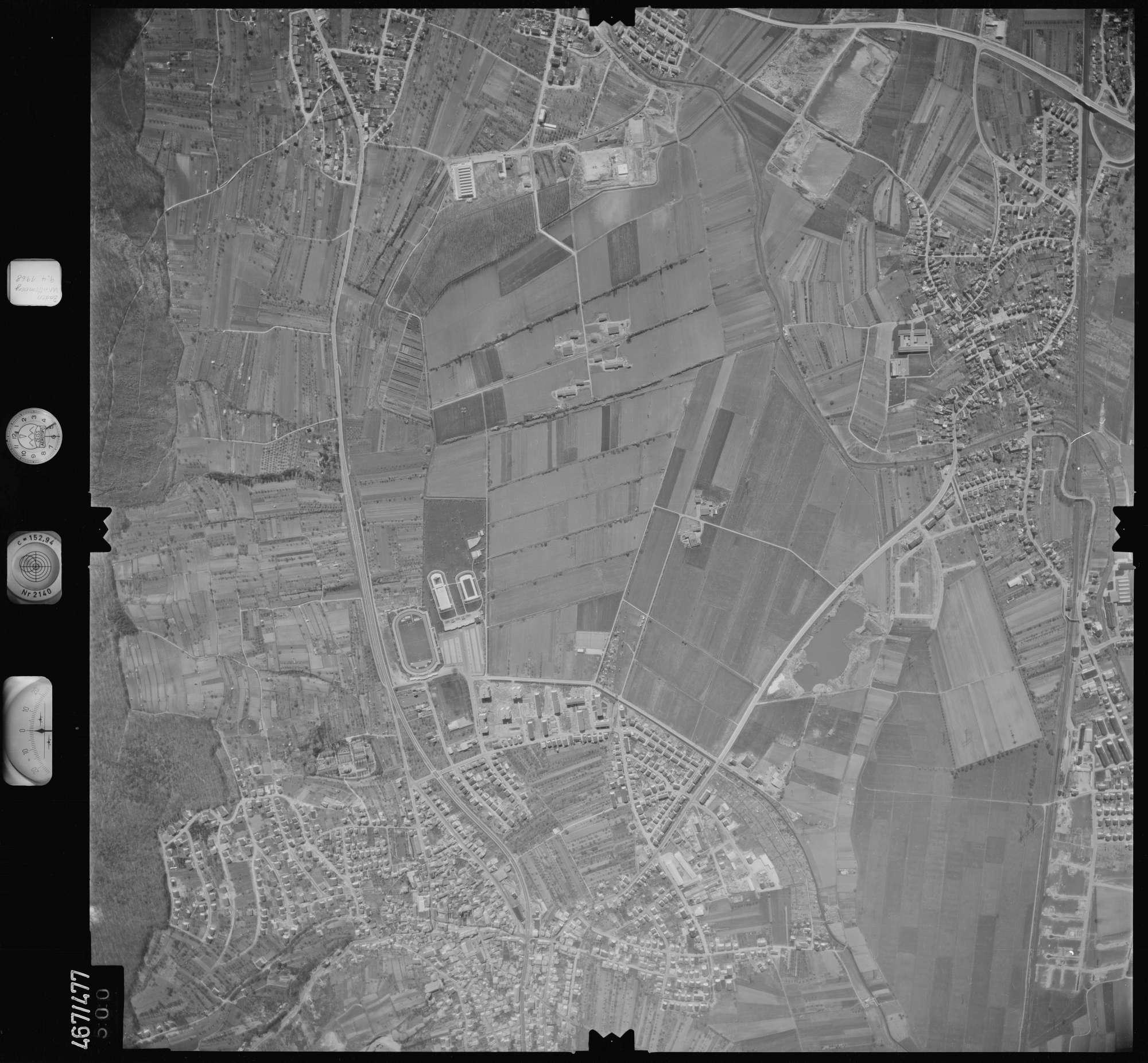 Luftbild: Film 101 Bildnr. 500, Bild 1