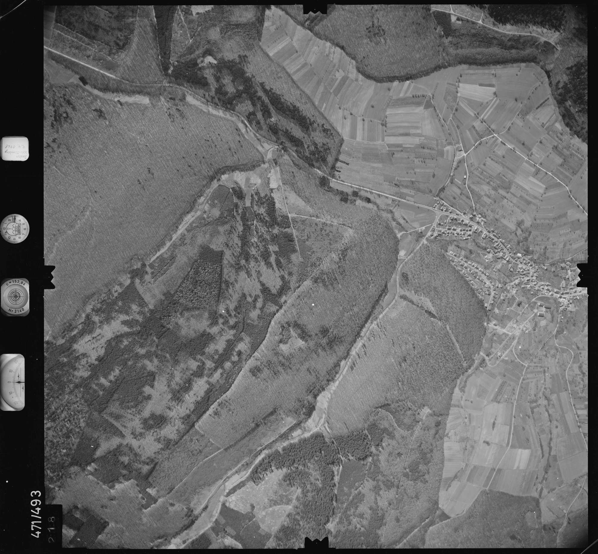 Luftbild: Film 100 Bildnr. 218, Bild 1