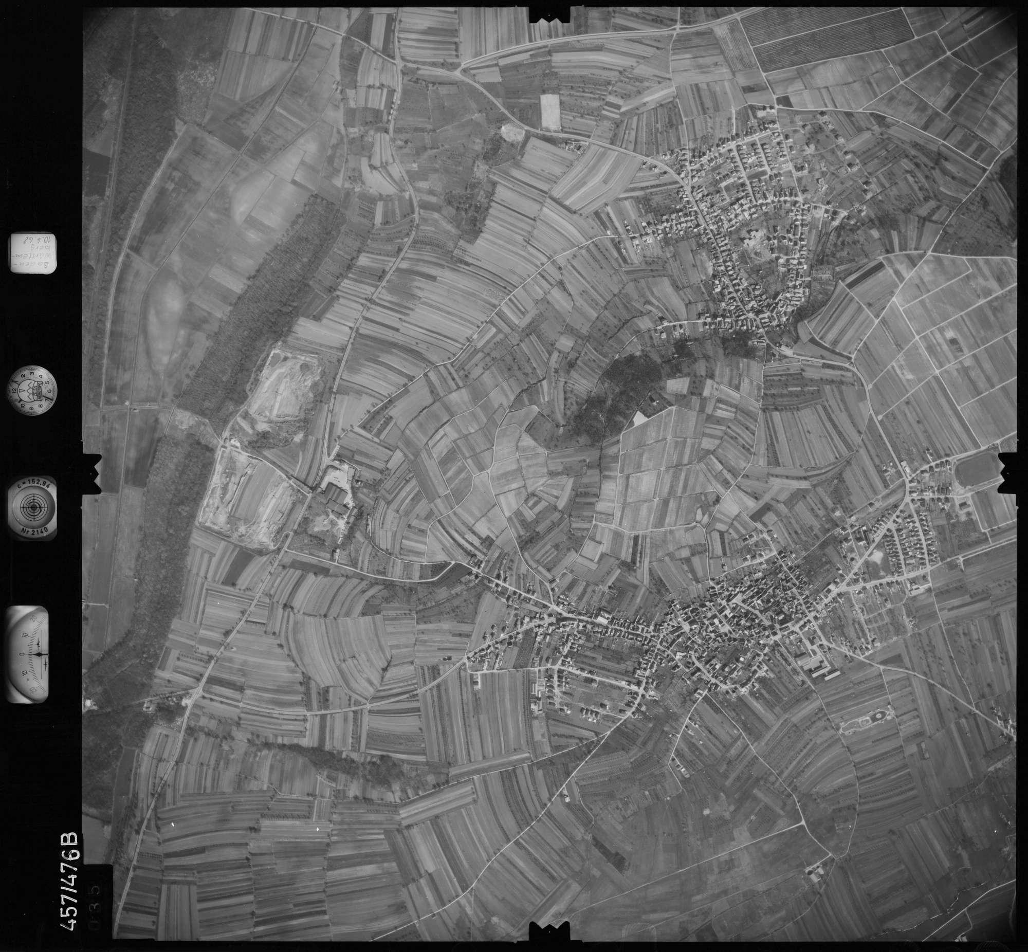 Luftbild: Film 104 Bildnr. 35, Bild 1