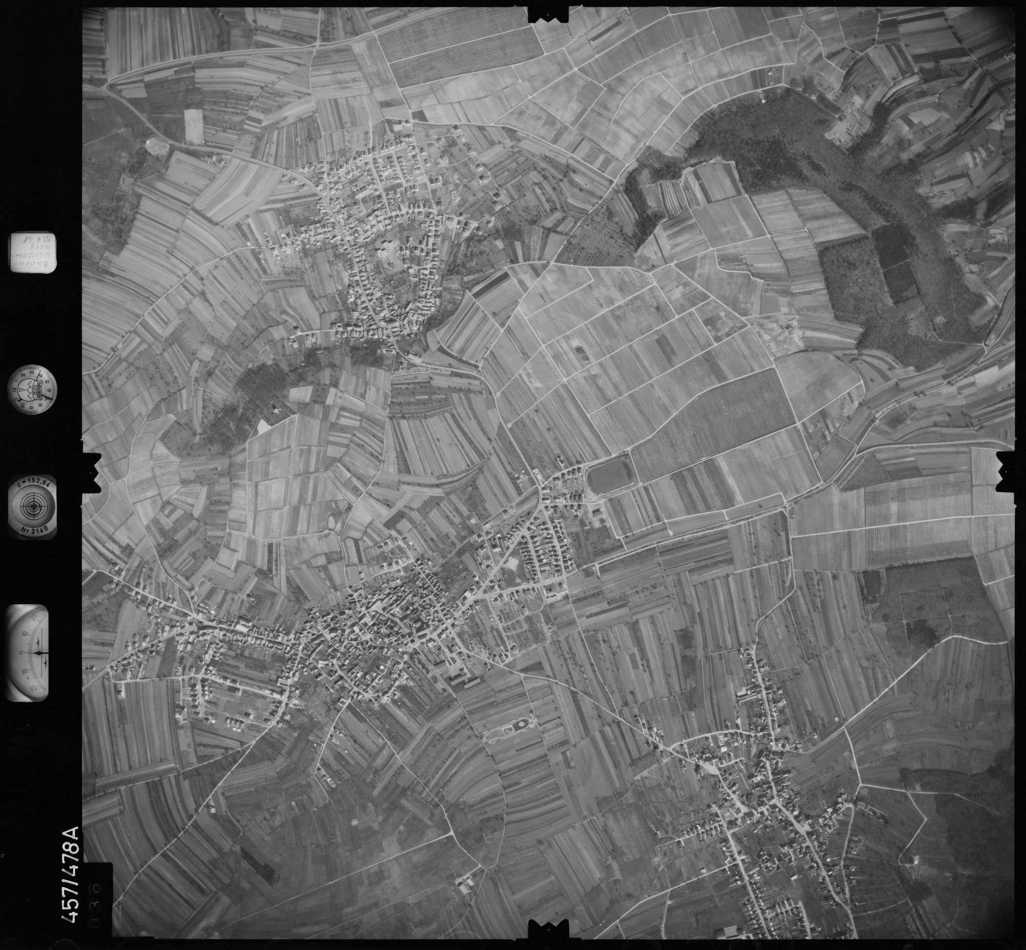 Luftbild: Film 104 Bildnr. 36, Bild 1