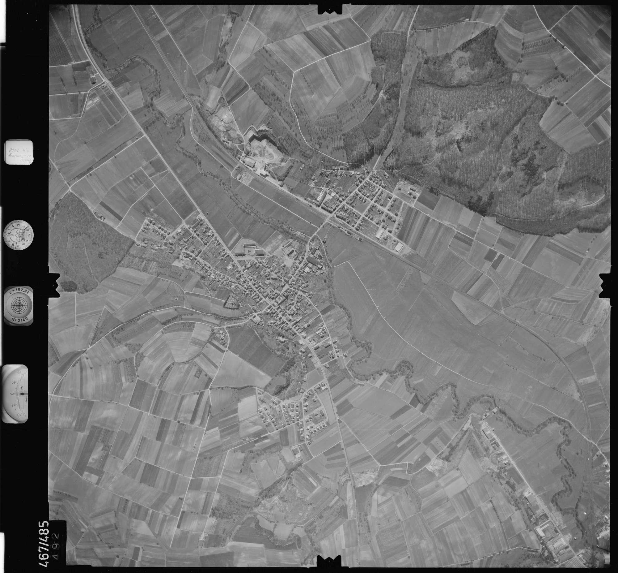 Luftbild: Film 101 Bildnr. 492, Bild 1