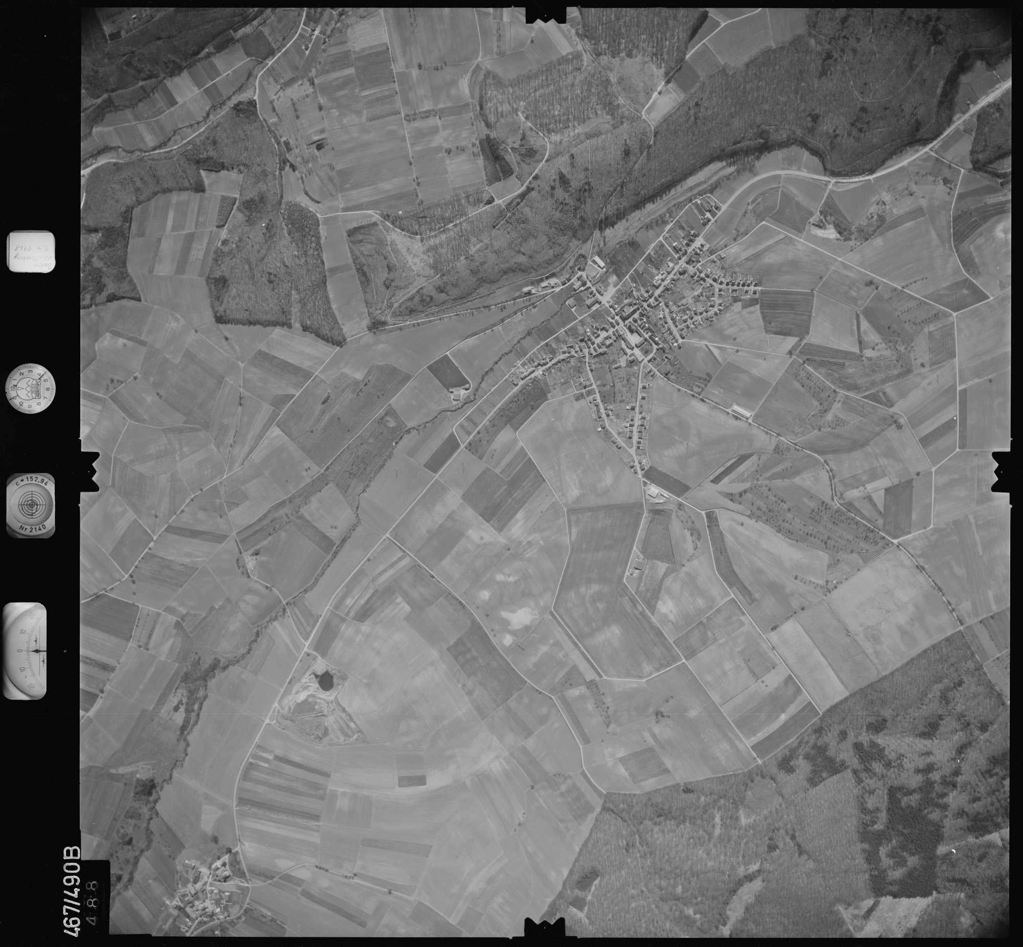 Luftbild: Film 101 Bildnr. 488, Bild 1