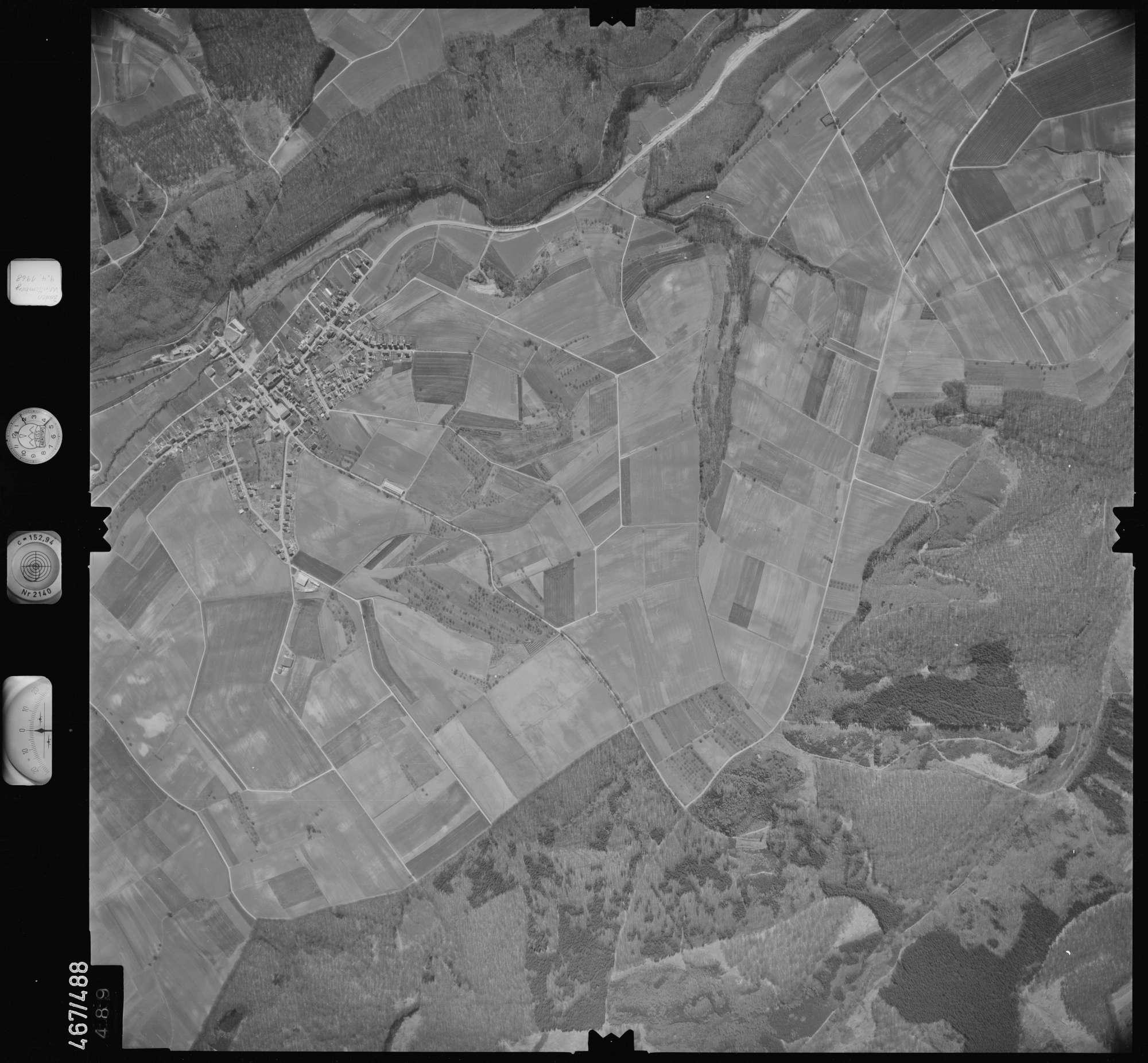 Luftbild: Film 101 Bildnr. 489, Bild 1