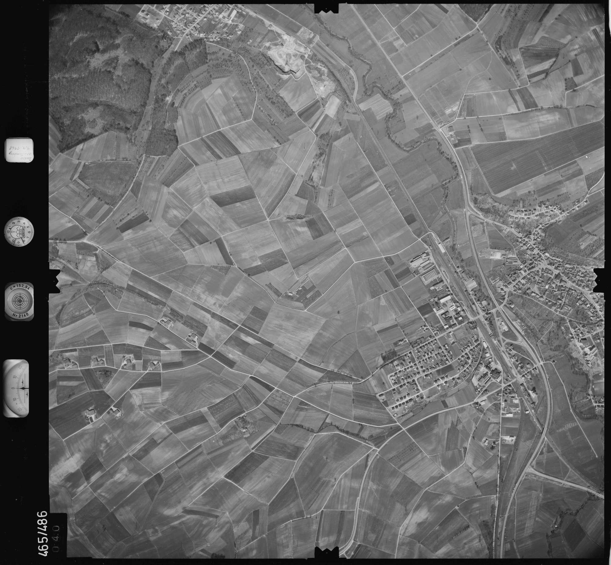 Luftbild: Film 102 Bildnr. 40, Bild 1