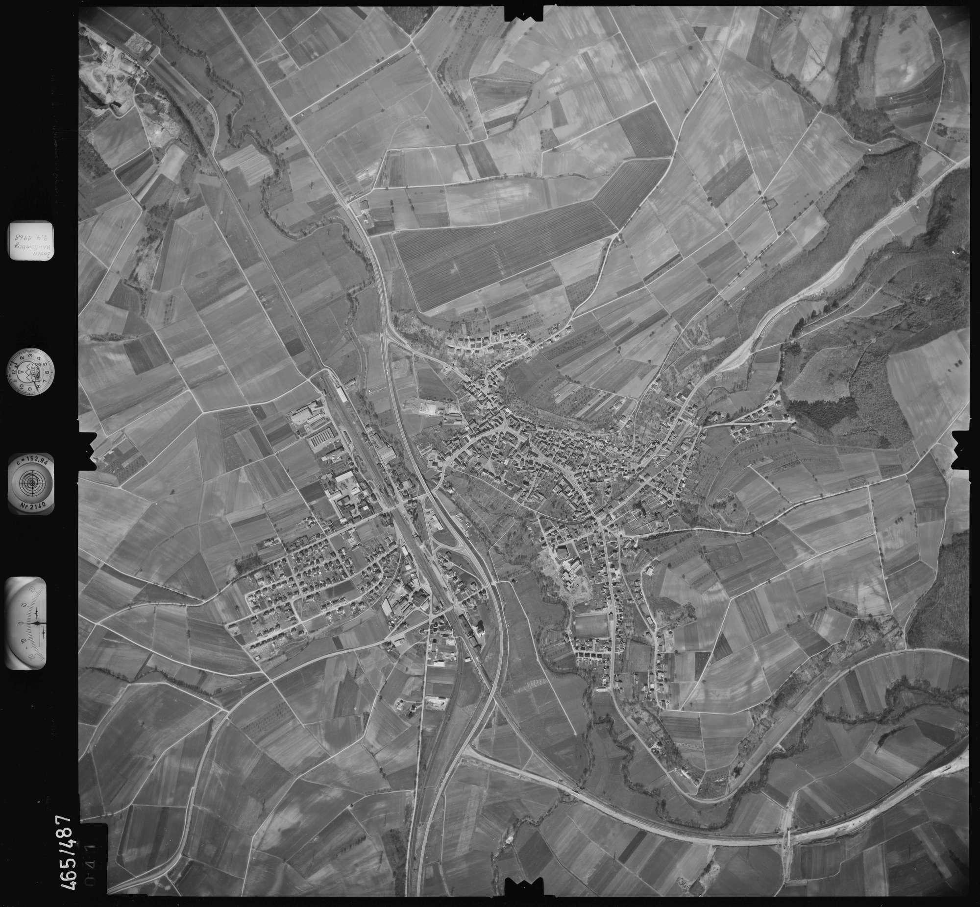 Luftbild: Film 102 Bildnr. 41, Bild 1