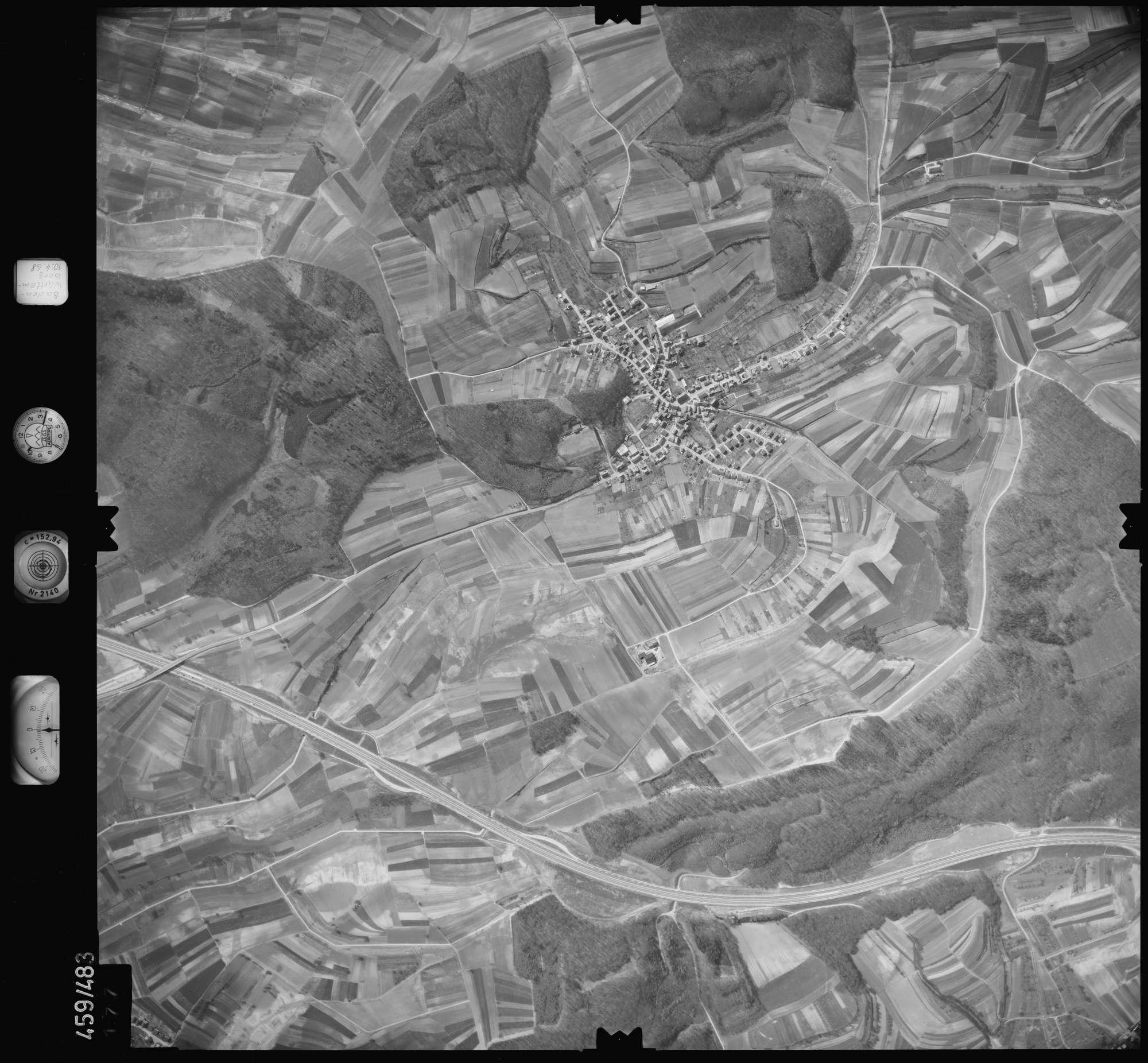 Luftbild: Film 103 Bildnr. 177, Bild 1