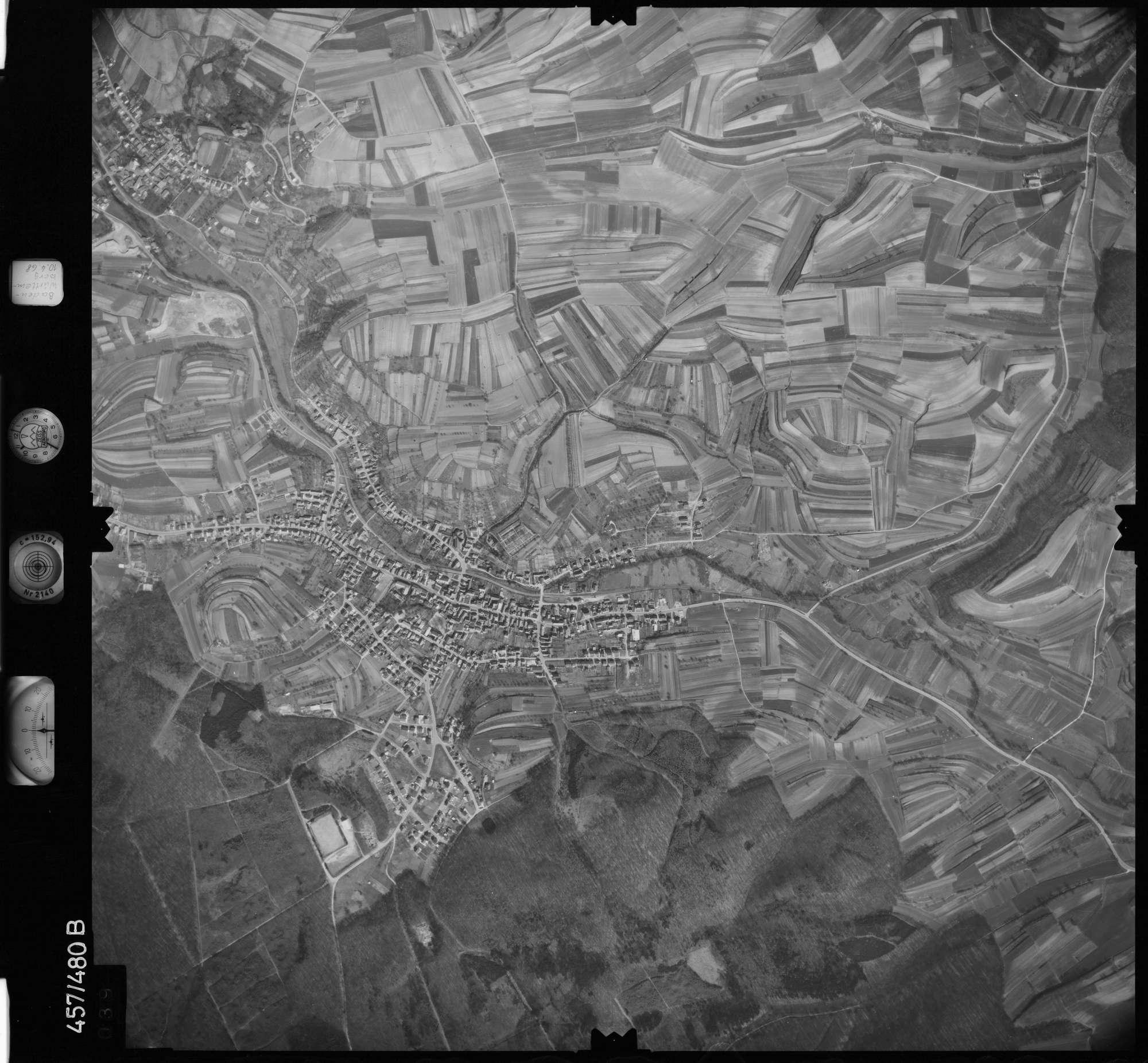 Luftbild: Film 104 Bildnr. 39, Bild 1