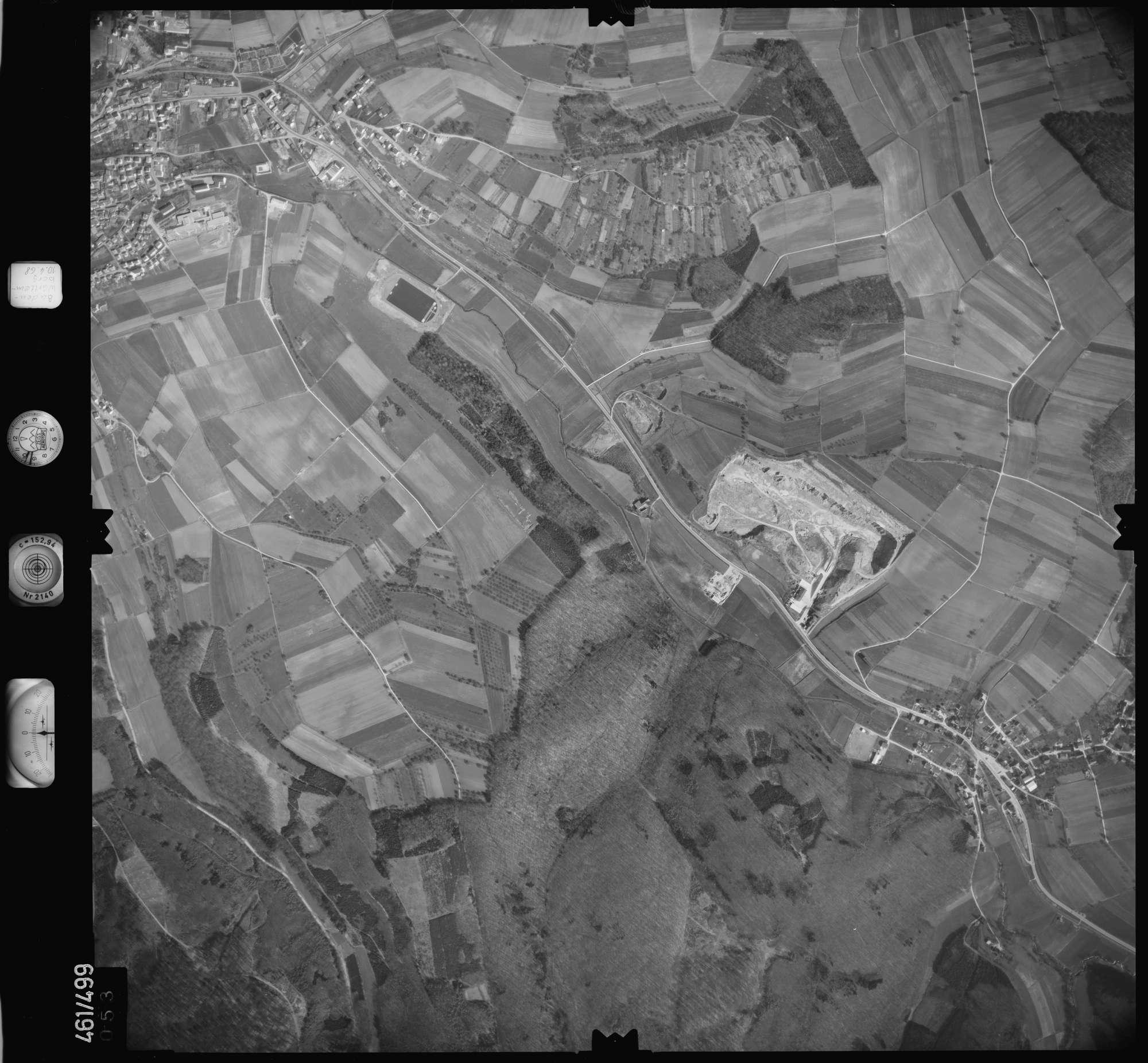 Luftbild: Film 103 Bildnr. 53, Bild 1