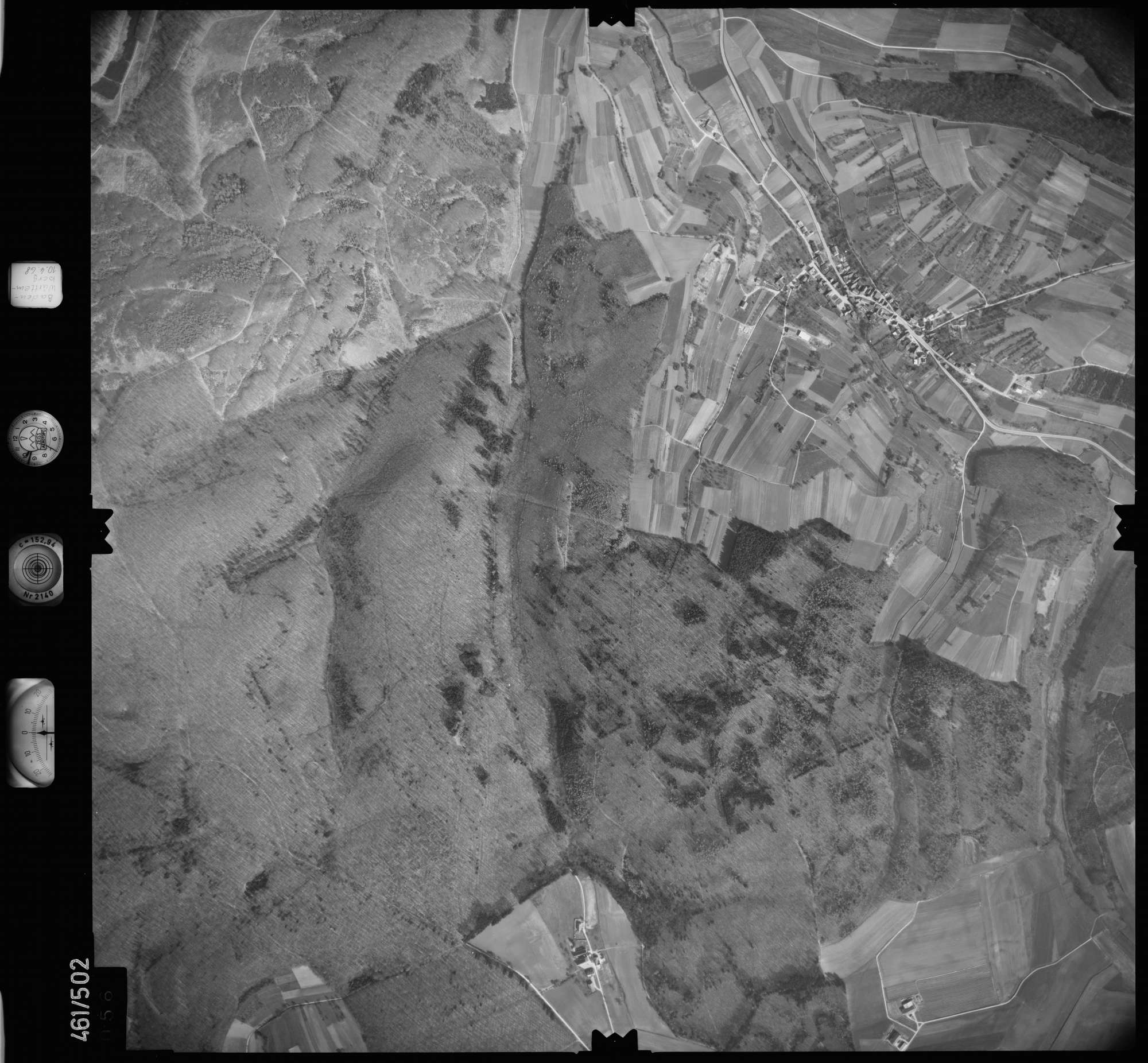 Luftbild: Film 103 Bildnr. 56, Bild 1