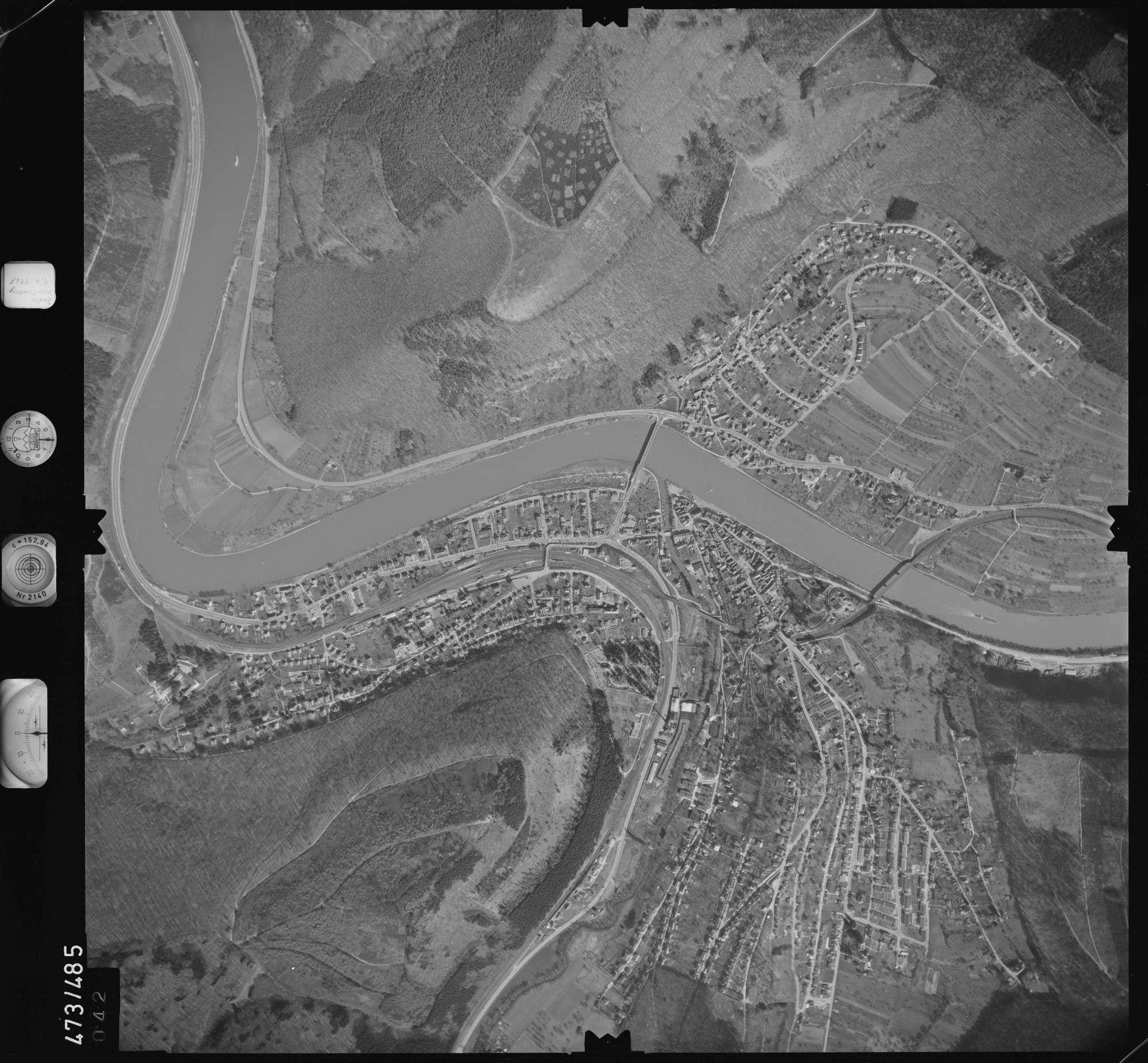 Luftbild: Film 100 Bildnr. 42, Bild 1