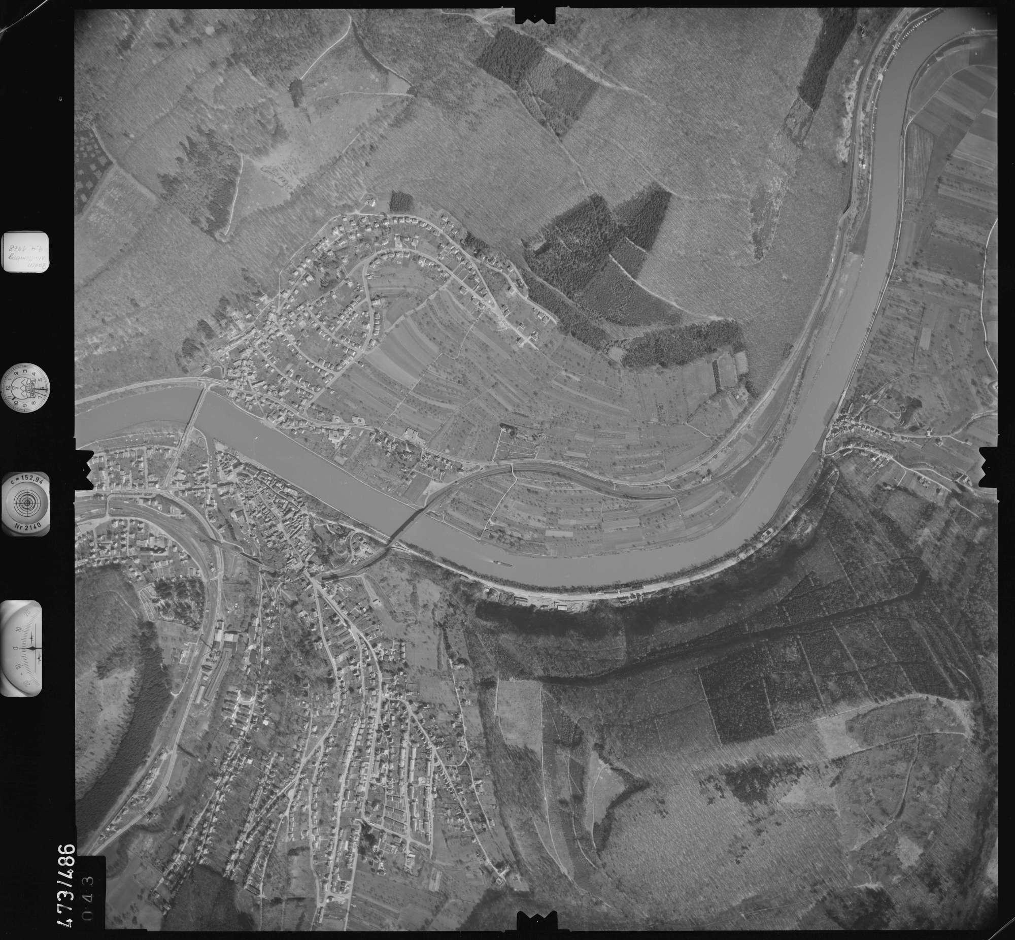 Luftbild: Film 100 Bildnr. 43, Bild 1