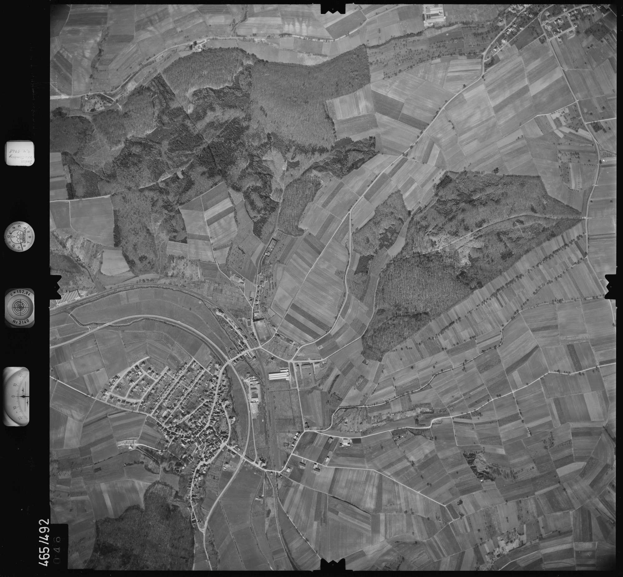 Luftbild: Film 102 Bildnr. 46, Bild 1