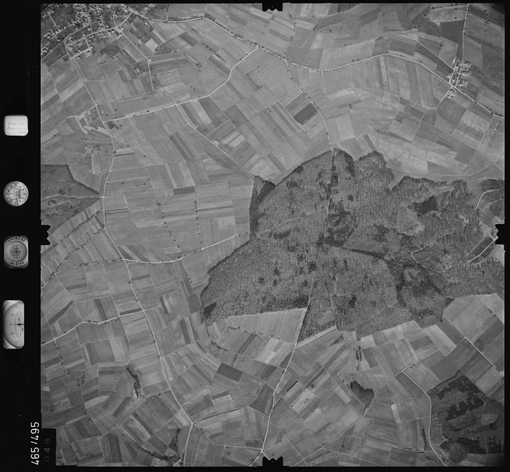 Luftbild: Film 102 Bildnr. 48, Bild 1