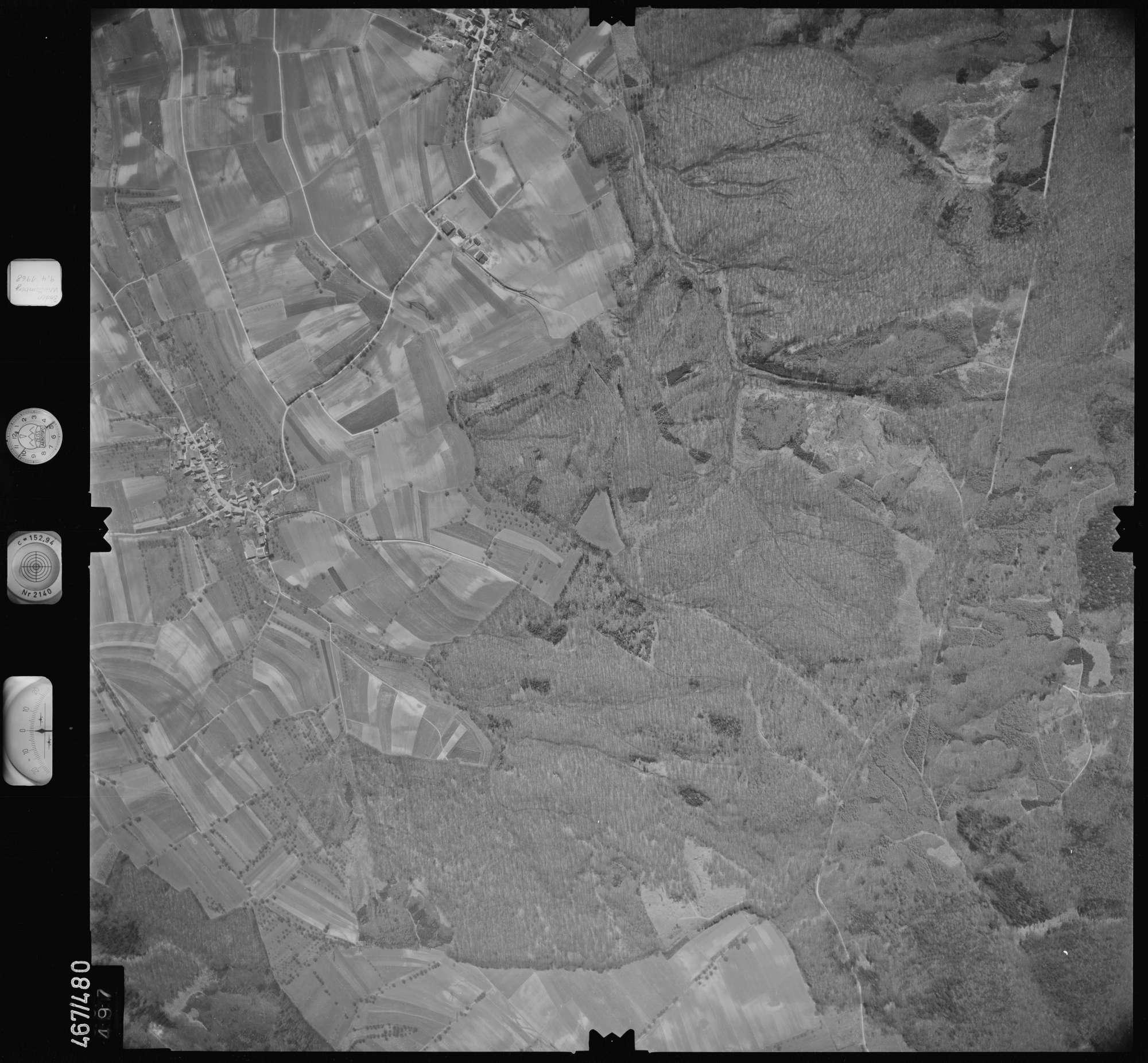 Luftbild: Film 101 Bildnr. 497, Bild 1