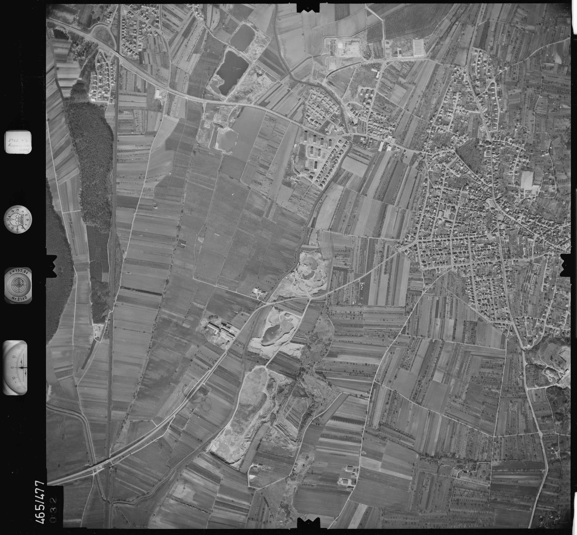 Luftbild: Film 102 Bildnr. 32, Bild 1