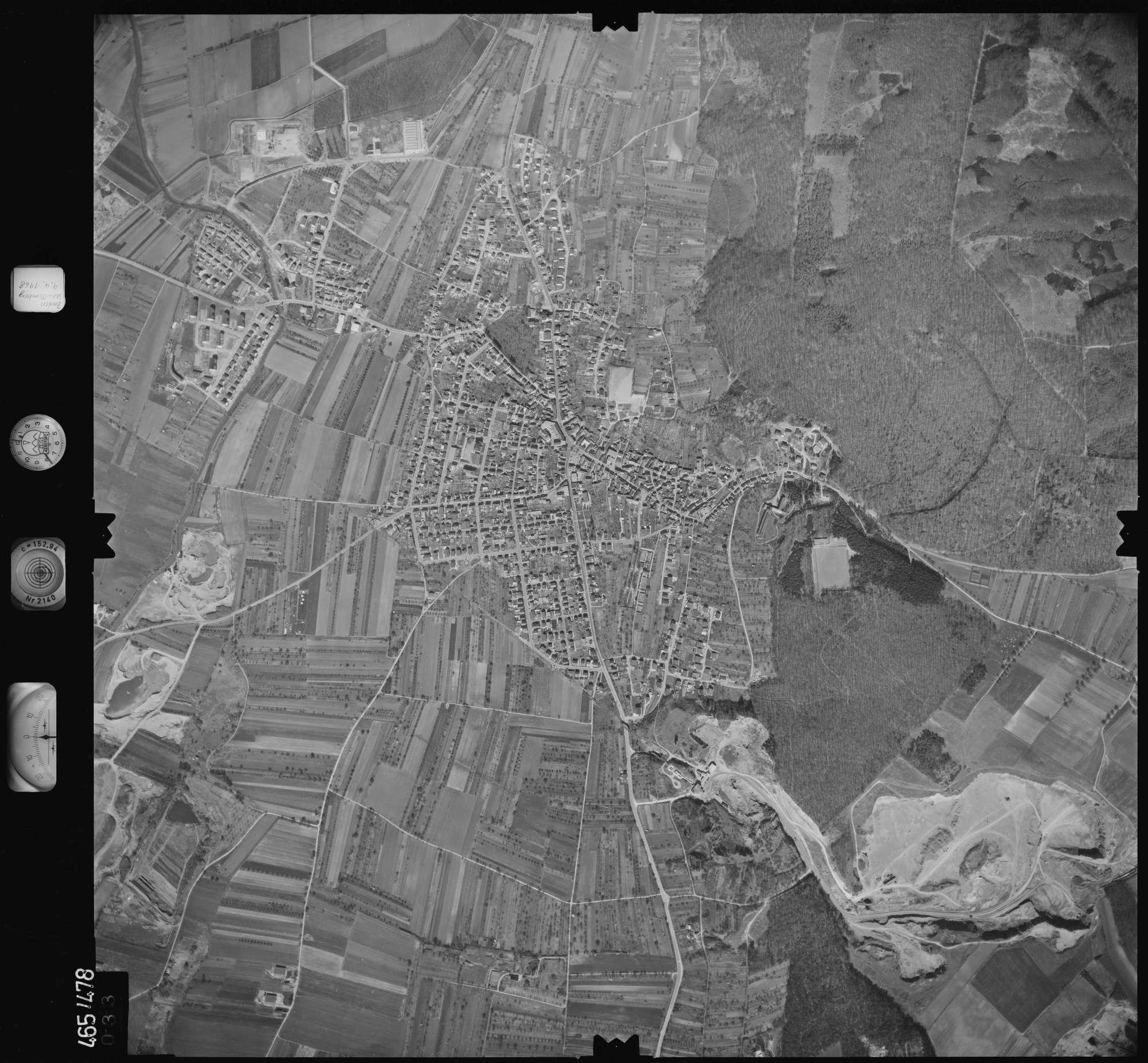 Luftbild: Film 102 Bildnr. 33, Bild 1
