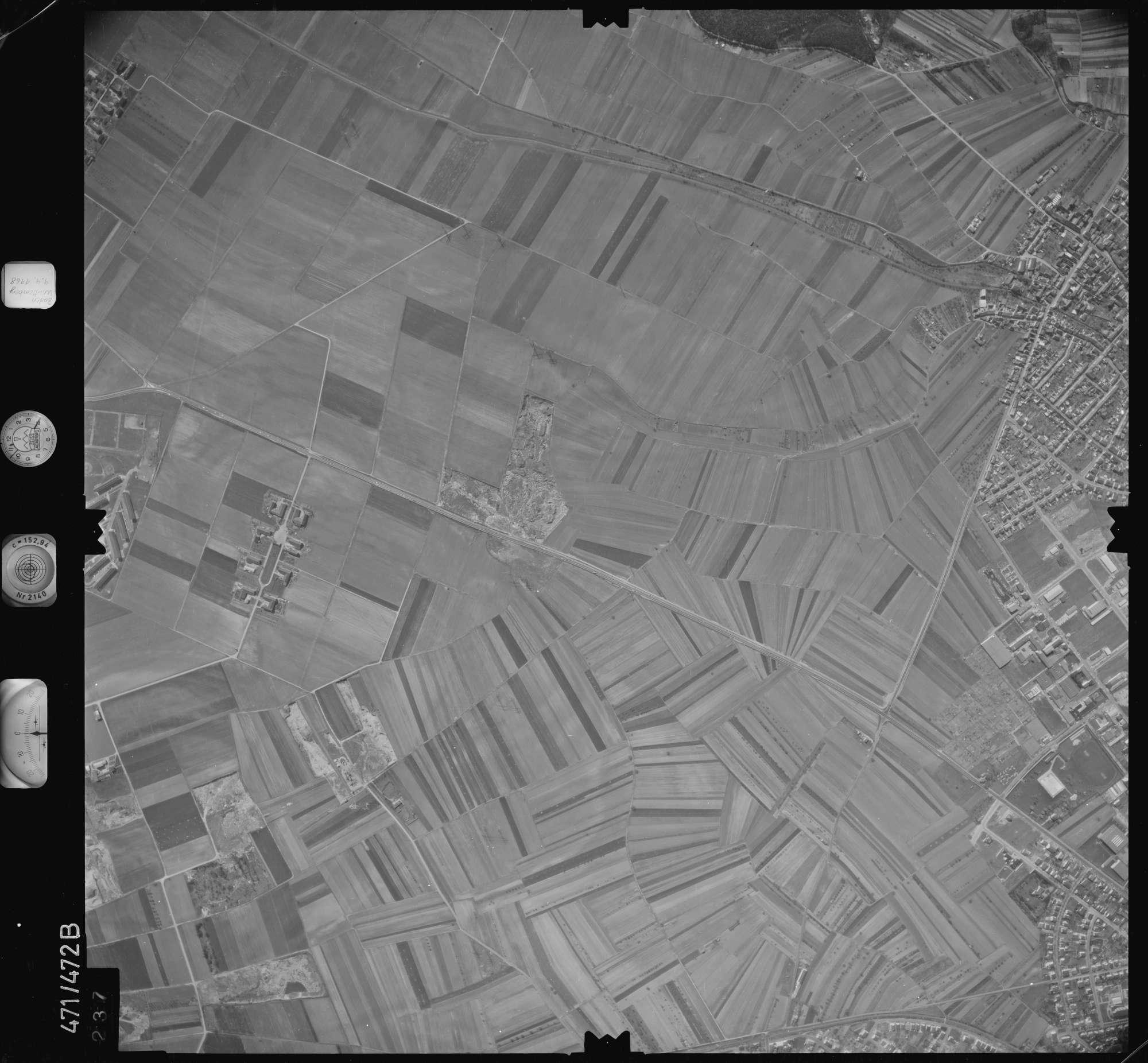 Luftbild: Film 100 Bildnr. 237, Bild 1