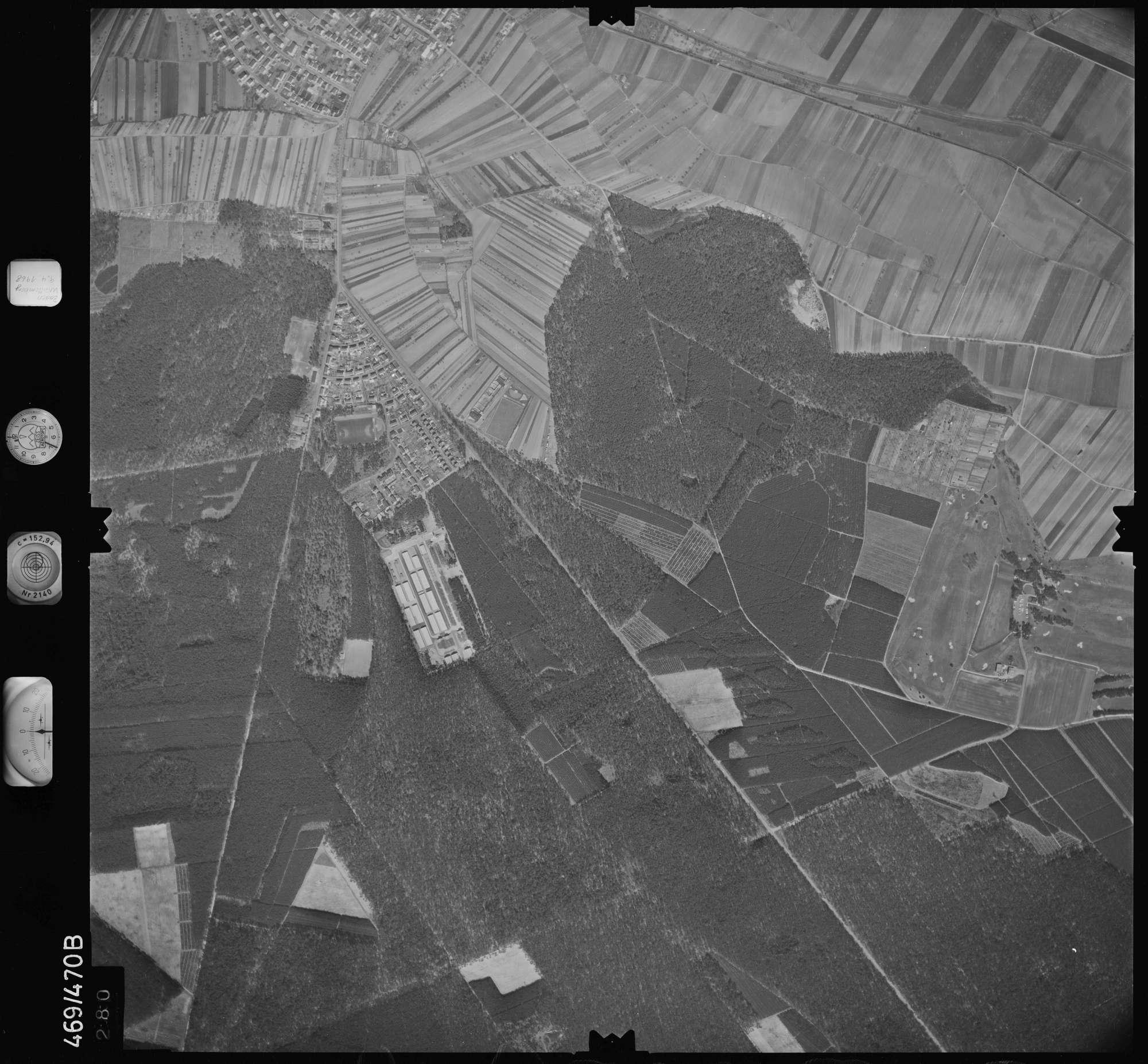 Luftbild: Film 101 Bildnr. 280, Bild 1
