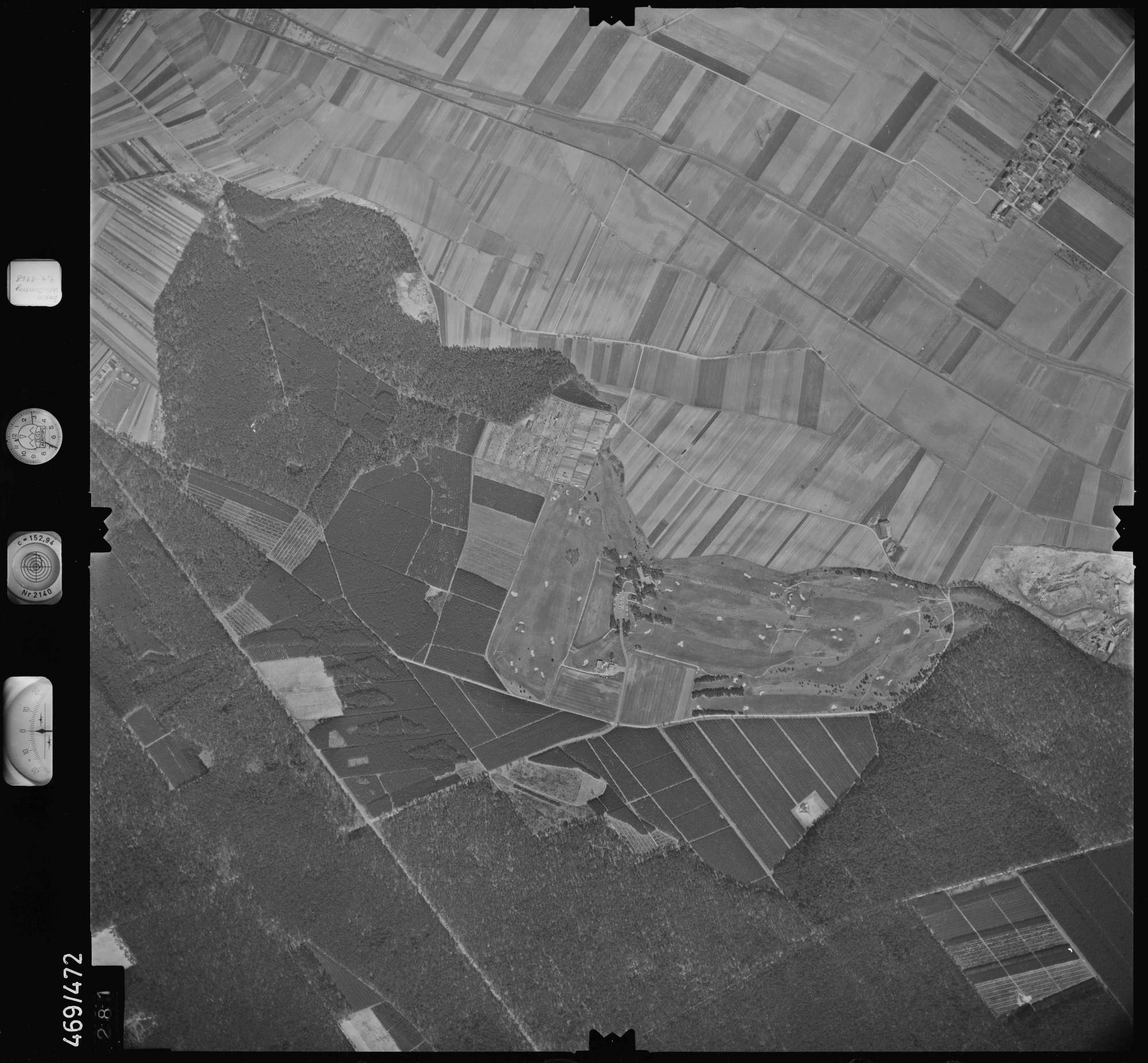 Luftbild: Film 101 Bildnr. 281, Bild 1