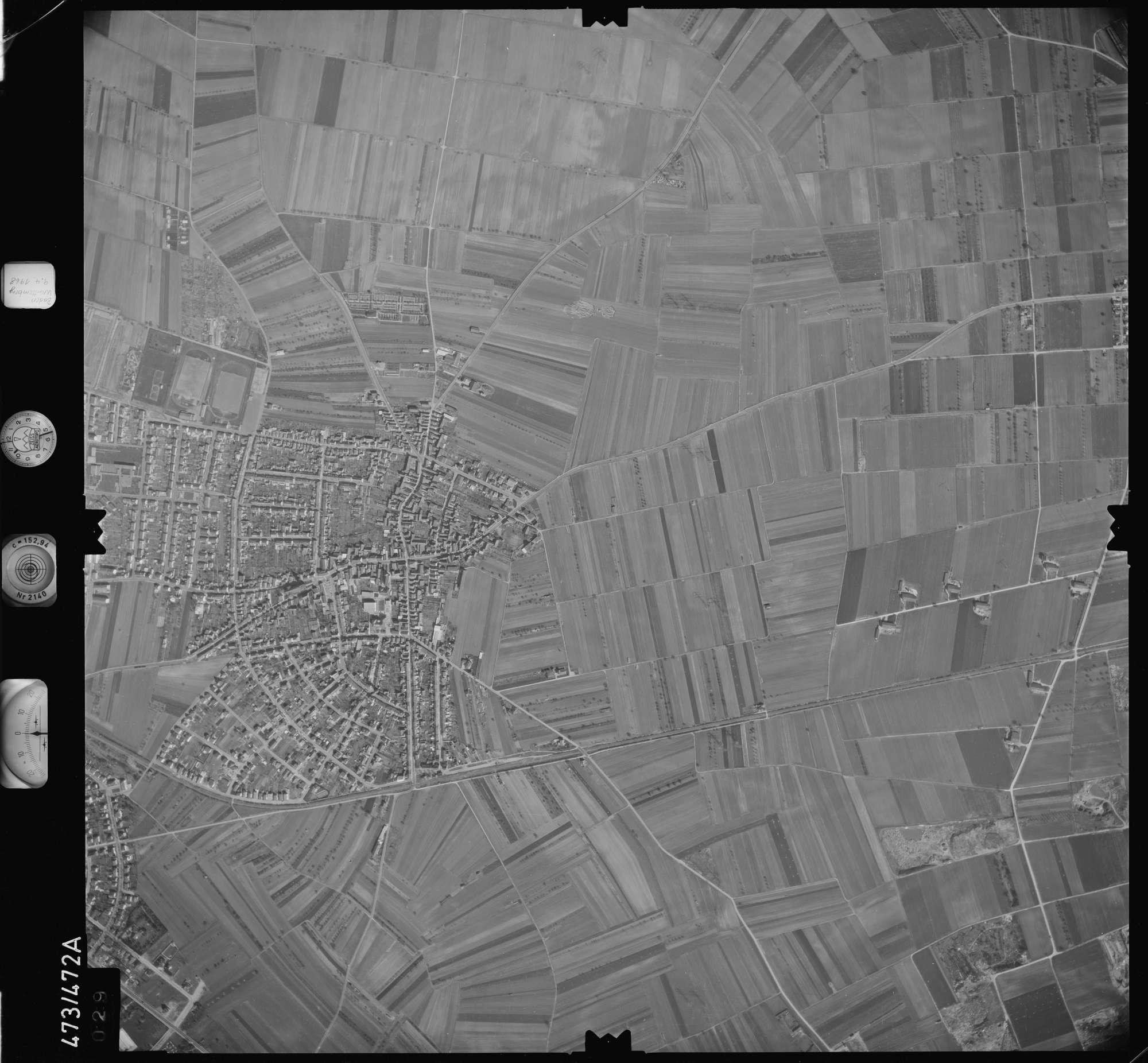 Luftbild: Film 100 Bildnr. 29, Bild 1