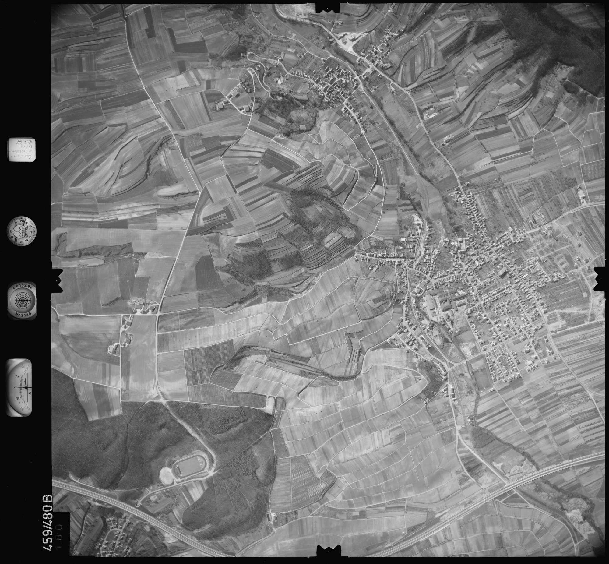 Luftbild: Film 103 Bildnr. 180, Bild 1