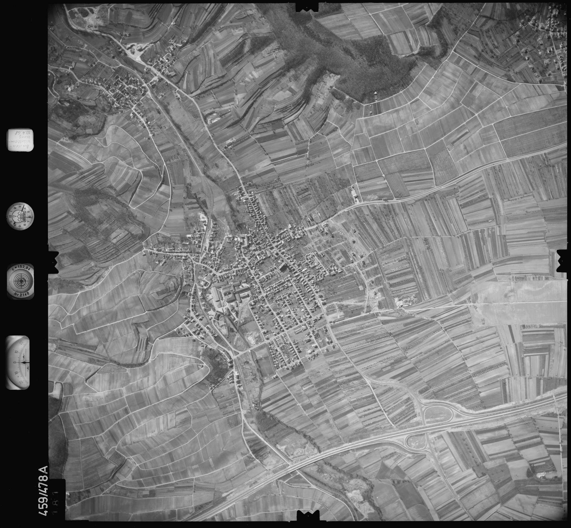 Luftbild: Film 103 Bildnr. 181, Bild 1