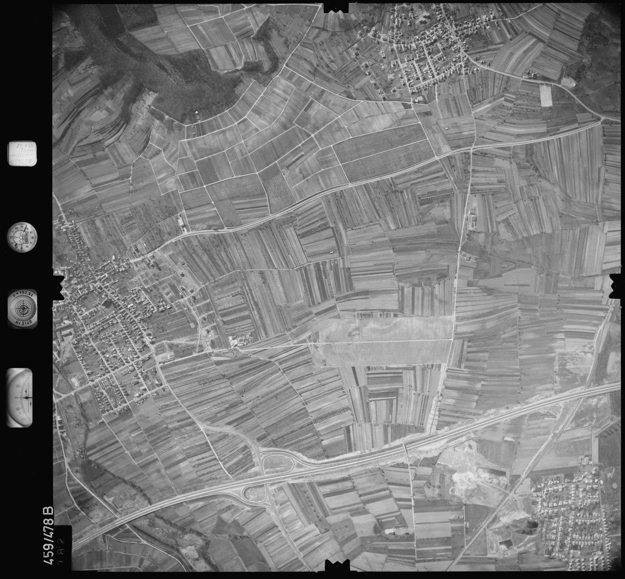 Luftbild: Film 103 Bildnr. 182, Bild 1