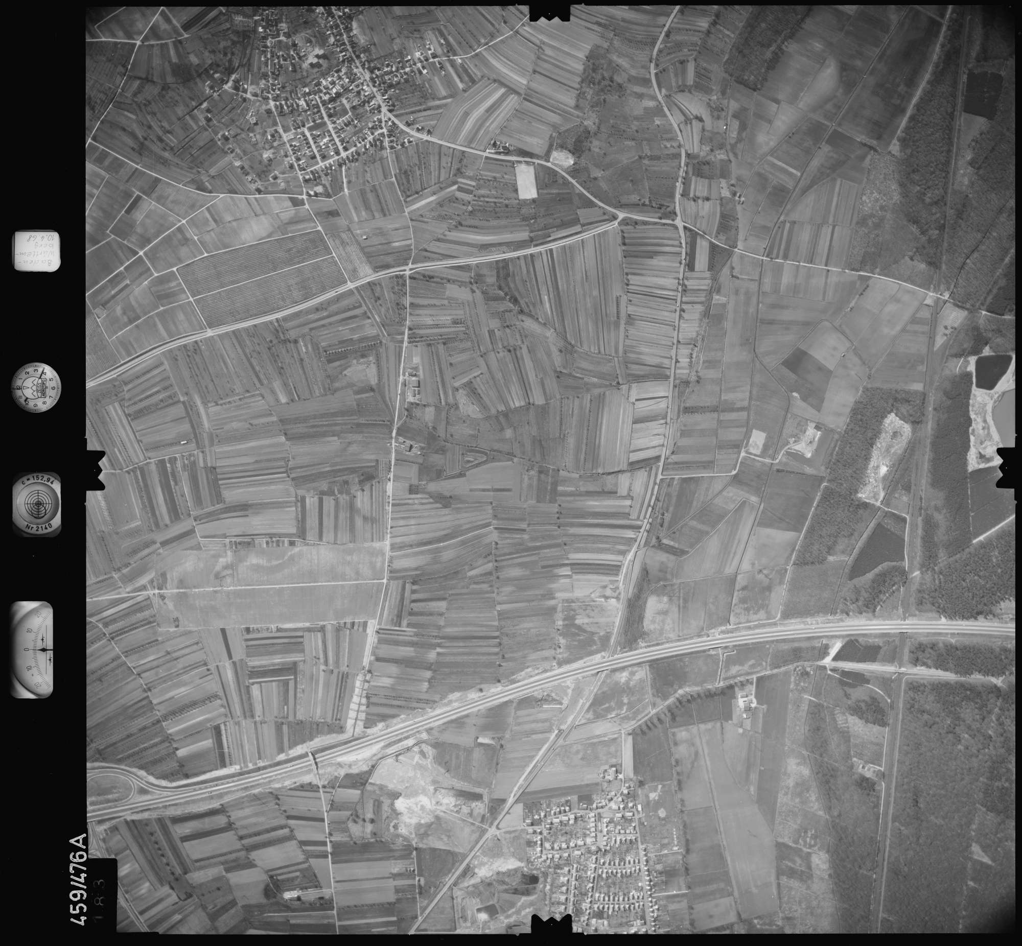 Luftbild: Film 103 Bildnr. 183, Bild 1