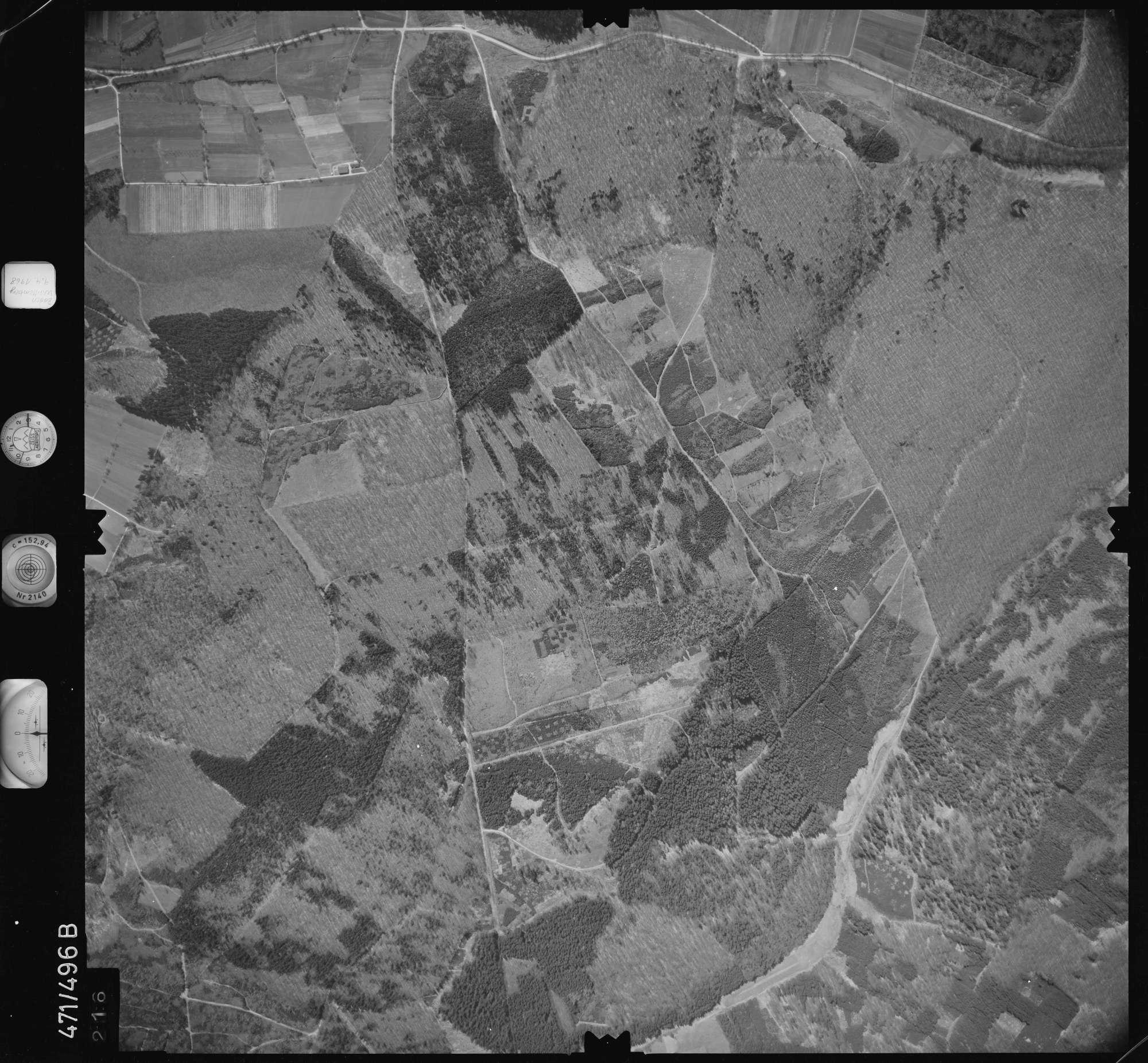 Luftbild: Film 100 Bildnr. 216, Bild 1