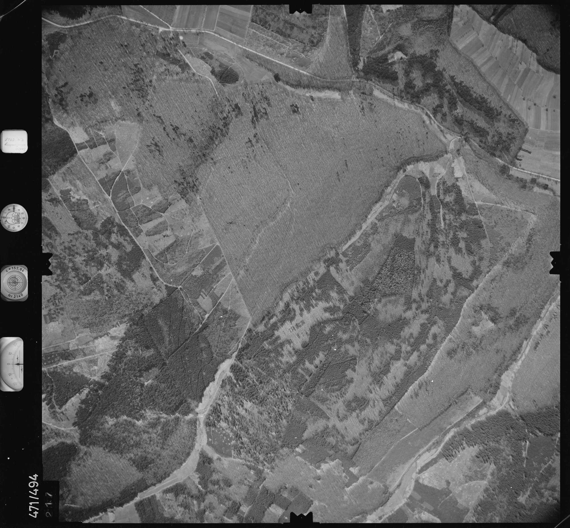 Luftbild: Film 100 Bildnr. 217, Bild 1