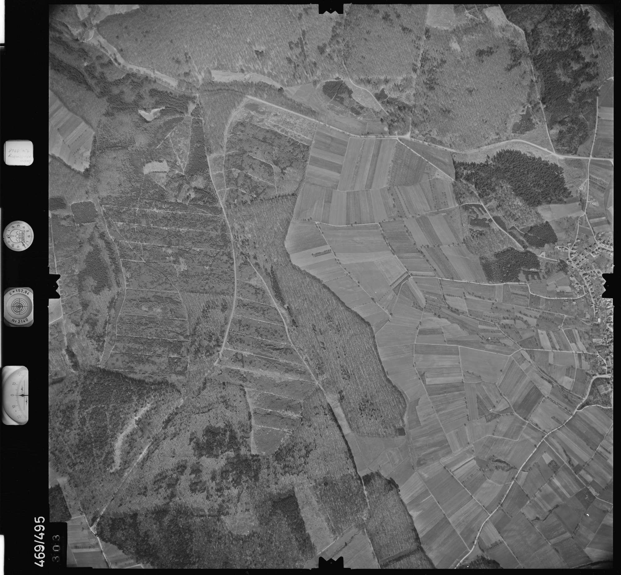 Luftbild: Film 101 Bildnr. 303, Bild 1
