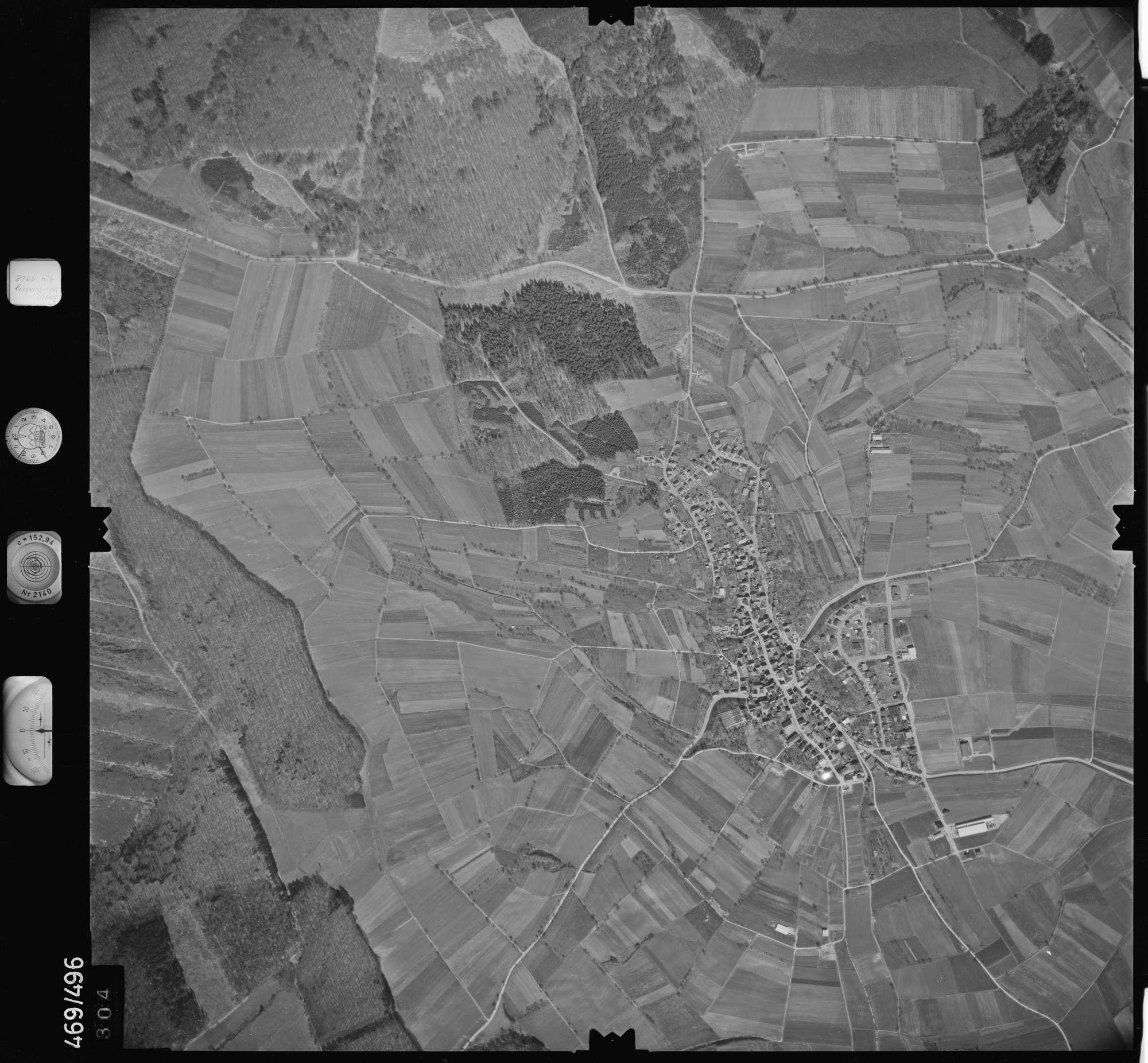 Luftbild: Film 101 Bildnr. 304, Bild 1
