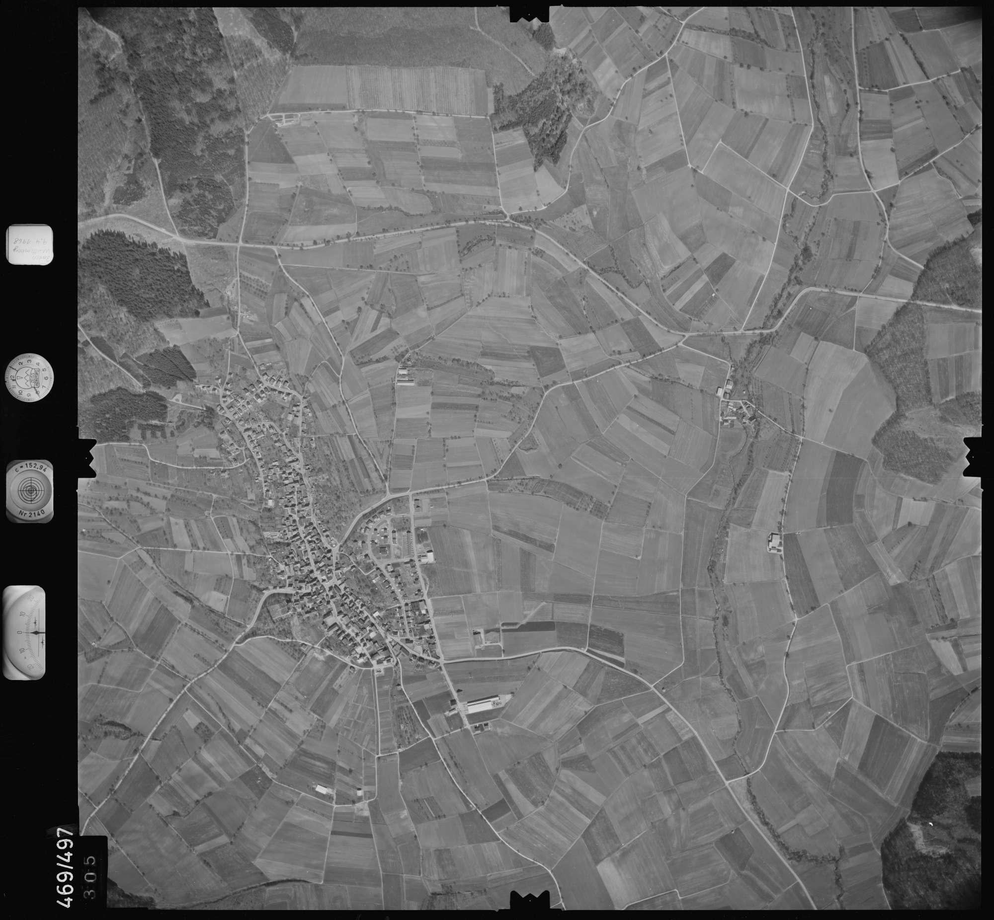 Luftbild: Film 101 Bildnr. 305, Bild 1