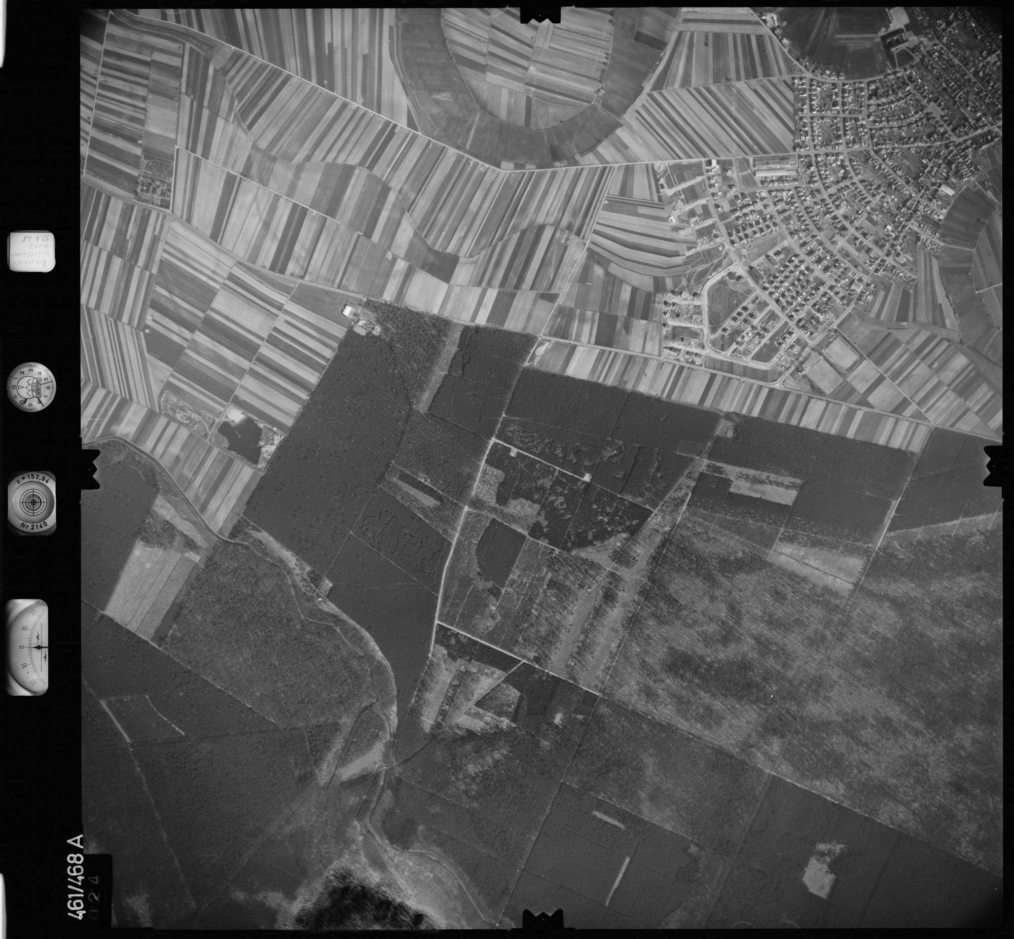 Luftbild: Film 103 Bildnr. 24, Bild 1