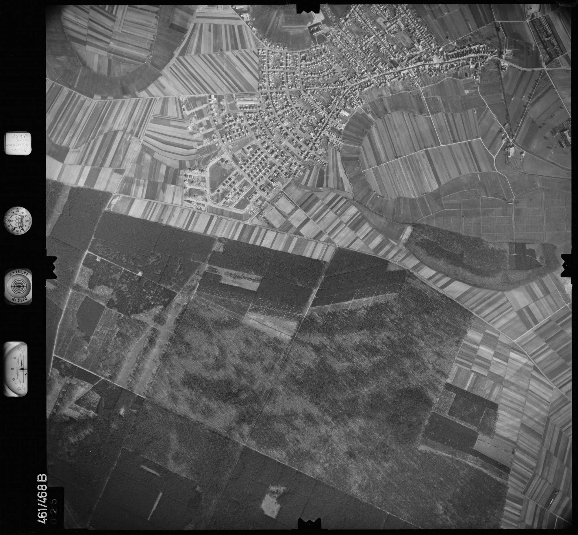 Luftbild: Film 103 Bildnr. 25, Bild 1