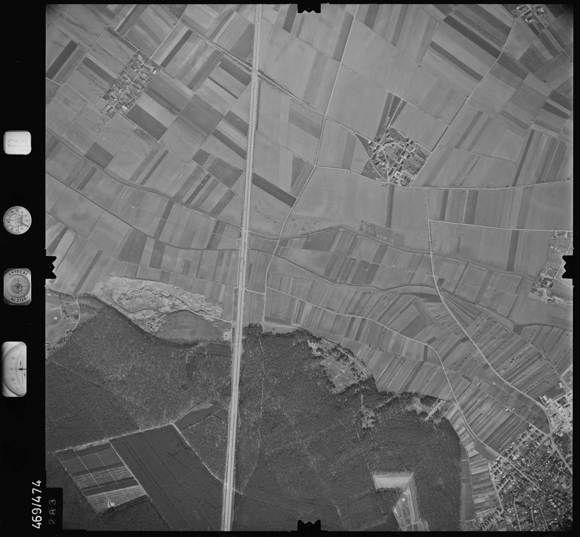 Luftbild: Film 101 Bildnr. 283, Bild 1