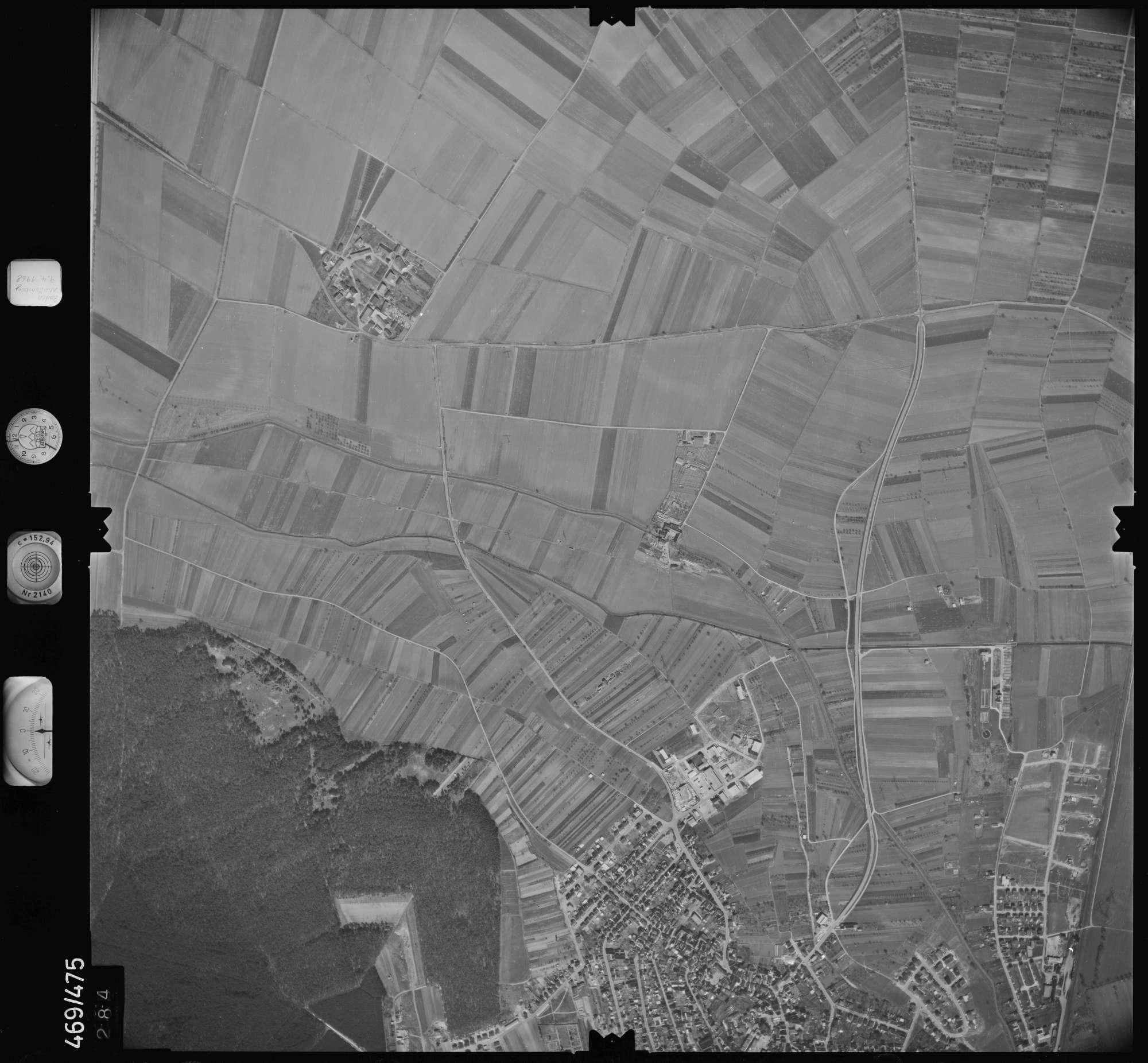 Luftbild: Film 101 Bildnr. 284, Bild 1