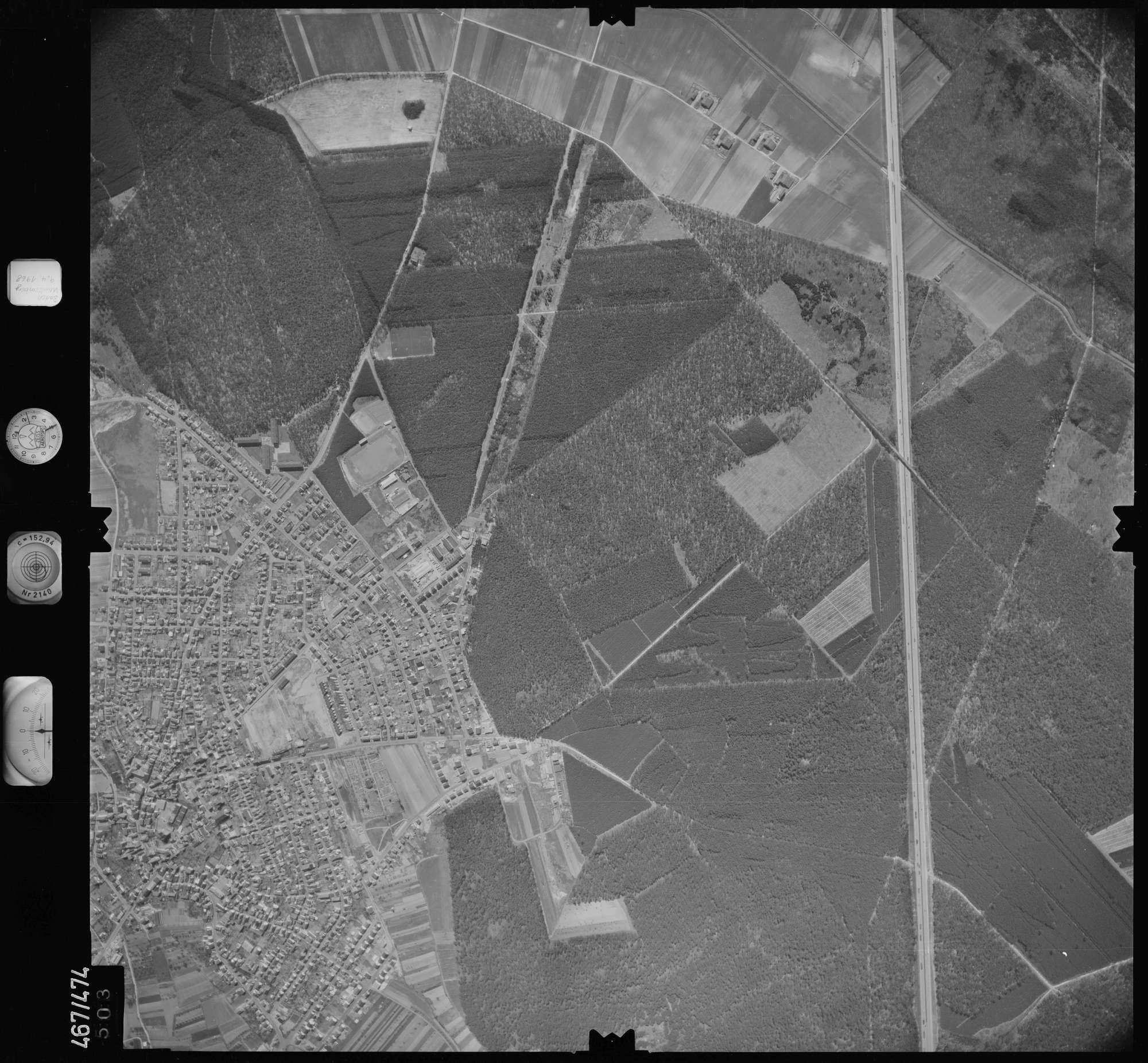 Luftbild: Film 101 Bildnr. 503, Bild 1