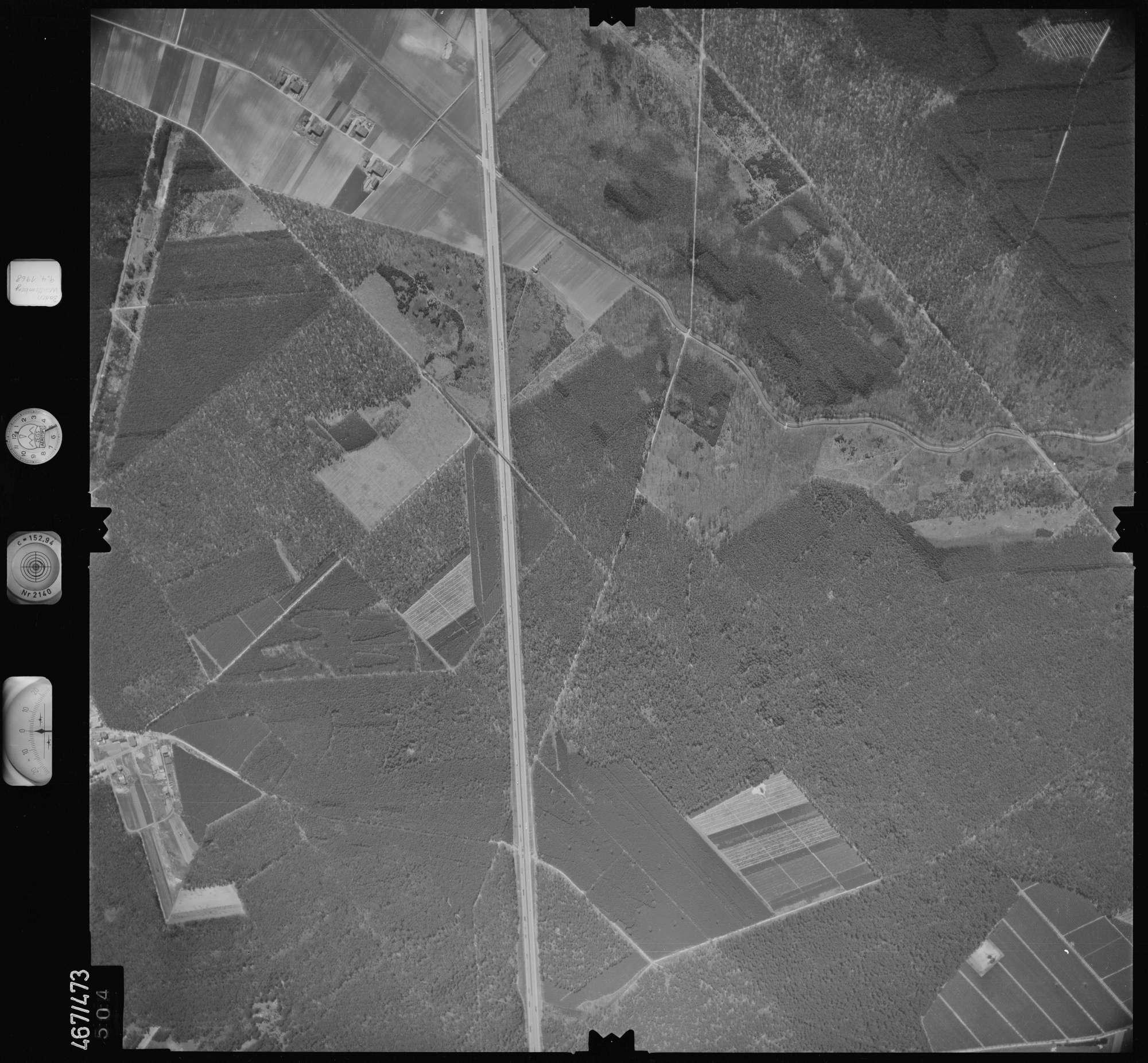 Luftbild: Film 101 Bildnr. 504, Bild 1